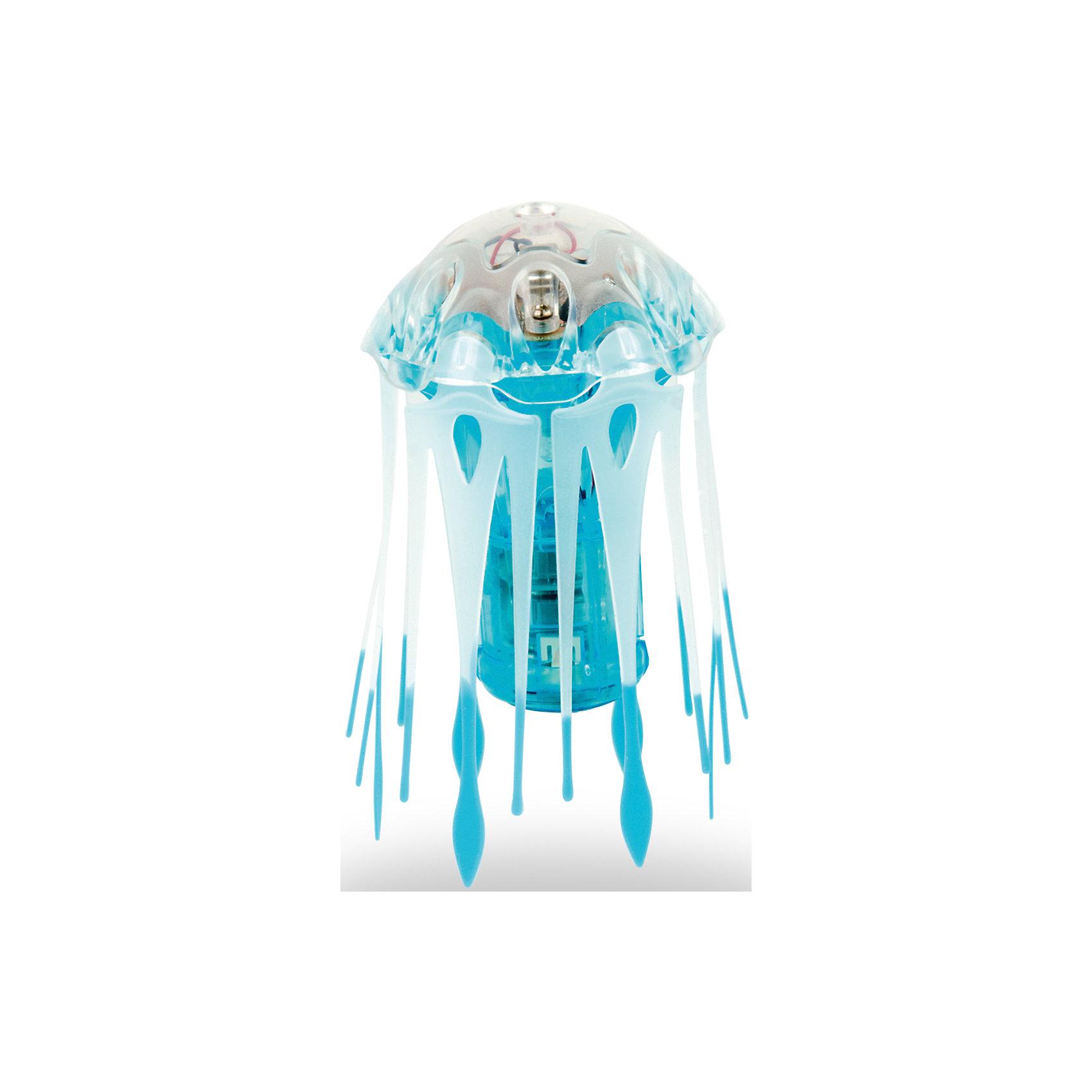 Микро-робот Aqua Bot Медуза, синий, HexbugИнтерактивные игрушки для малышей<br>Микро-робот Aqua Bot Медуза, синий, Hexbug (Хексбаг)<br><br>Характеристики:<br><br>• плавает в любом направлении<br>• автоматическое отключение вне воды<br>• световые эффекты<br>• гибкие щупальца<br>• цвет: синий<br>• размер: 4х4х6 см<br>• батарейки: AG13 - 3 шт. (входят в комплект)<br>• материал: пластик, металл<br>• размер упаковки: 12,5х7х17 см<br>• вес: 70 грамм<br><br>Aqua Bot Медуза - настоящая находка для любителей микророботов. При попадании в воду он начинает плавать, кружиться и двигаться, словно настоящая медуза. Щупальца микроробота гибкие. Для экономии энергии Медуза автоматически отключается вне воды или через несколько минут работы. Чтобы робот снова начал двигаться, достаточно немного всколыхнуть воду или постучать по стенке аквариума. Робот оснащен световыми эффектами, которые никого не оставят равнодушным!<br><br>Микро-робота Aqua Bot Медуза, синий, Hexbug (Хексбаг) вы можете купить в нашем интернет-магазине.<br><br>Ширина мм: 170<br>Глубина мм: 60<br>Высота мм: 120<br>Вес г: 74<br>Возраст от месяцев: 36<br>Возраст до месяцев: 2147483647<br>Пол: Унисекс<br>Возраст: Детский<br>SKU: 5507186