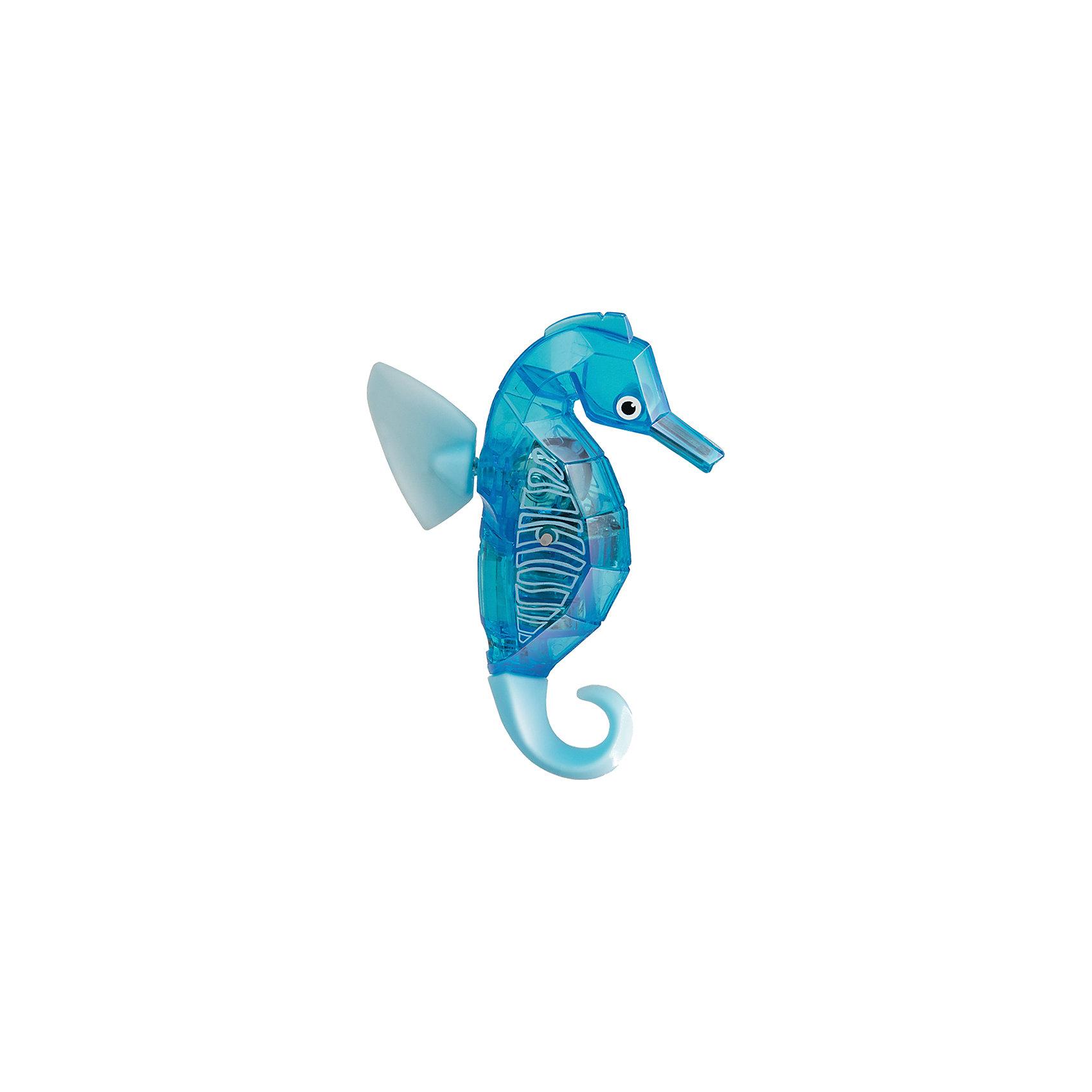 Микро-робот Aqua Bot Морской конек, голубой, HexbugИнтерактивные игрушки для малышей<br>Микро-робот Aqua Bot Морской конек, голубой, Hexbug (Хексбаг)<br><br>Характеристики:<br><br>• плавает в любом направлении<br>• автоматическое отключение вне воды<br>• световые эффекты<br>• цвет: голубой<br>• размер: 9х6,5х2 см<br>• батарейки: AG13 - 2 шт. (входят в комплект)<br>• материал: пластик, металл<br>• размер упаковки: 12х6х17 см<br>• вес: 85 грамм<br><br>Морской конек Aqua Bot подарит вам много радости и незабываемых эмоций. Он быстро плавает в воде, ныряет и двигается в разных направлениях. Лампочки внутри игрушки светятся во время движения. Робот автоматически отключается после пяти минут работы или при нахождении вне воды. Чтобы морской конек снова начал двигаться, достаточно всколыхнуть воду или постучать по стенке аквариума. Этот морской конек - отличный подарок любителям роботов!<br><br>Микро-робота Aqua Bot Морской конек, голубой, Hexbug (Хексбаг) вы можете купить в нашем интернет-магазине.<br><br>Ширина мм: 160<br>Глубина мм: 80<br>Высота мм: 120<br>Вес г: 58<br>Возраст от месяцев: 36<br>Возраст до месяцев: 2147483647<br>Пол: Унисекс<br>Возраст: Детский<br>SKU: 5507187