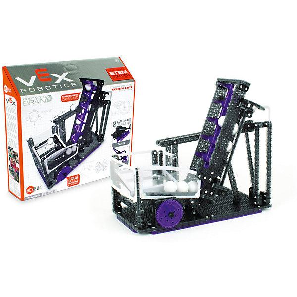 Конструктор VEX Screwlift Ball Machine, 170 деталей, HexbugПластмассовые конструкторы<br>Конструктор VEX Screwlift Ball Machine, 170 деталей, Hexbug (Хексбаг)<br><br>Характеристики:<br><br>• несколько вариантов сборки<br>• прост в управлении<br>• подходит к другим конструкторам VEX<br>• количество деталей: 170<br>• размер упаковки: 10х40х35 см<br>• вес: 900 грамм<br><br>Конструктор VEX Screwlift Ball Machine позволит ребенку самостоятельно собрать сложный механизм, способный поднимать шарики с помощью винта Архимеда. Все детали набора совместимы с другими конструкторами VEX. Готовым механизмом очень легко управлять. Конструктор VEX познакомит ребенка с основами физики и механики в игровой форме.<br><br>Конструктор VEX Screwlift Ball Machine, 170 деталей, Hexbug (Хексбаг) можно купить в нашем интернет-магазине.<br><br>Ширина мм: 270<br>Глубина мм: 60<br>Высота мм: 230<br>Вес г: 877<br>Возраст от месяцев: 36<br>Возраст до месяцев: 2147483647<br>Пол: Унисекс<br>Возраст: Детский<br>SKU: 5507209