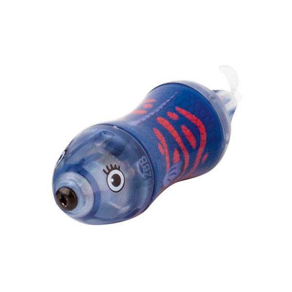 Микро-робот Aquabot Wahoo, синий, HexbugИнтерактивные игрушки для малышей<br>Микро-робот Aquabot Wahoo, синий, Hexbug (Хексбаг)<br><br>Характеристики:<br><br>• останавливается через 5 минут работы<br>• легко запускается<br>• быстро двигается<br>• батарейки: LR44 - 1 шт.<br>• размер упаковки: 2,5х13х4,5 см<br>• вес: 35 грамм<br>• цвет: синий<br><br>Aquabot Wahoo - маленькая рыбка-робот из линейки микророботов Aquabot. Она быстро двигается в воде, подражая своему прототипу, рыбе Ваху. Через 5 минут работы включается режим энергосбережения и рыбка останавливается. Чтобы она снова начала двигаться, достаточно постучать по стенке аквариума. Aquabot Wahoo - прекрасное развлечение для всей семьи!<br><br>Микро-робот Aquabot Wahoo, синий, Hexbug (Хексбаг) вы можете купить в нашем интернет-магазине.<br><br>Ширина мм: 130<br>Глубина мм: 20<br>Высота мм: 40<br>Вес г: 35<br>Возраст от месяцев: 36<br>Возраст до месяцев: 2147483647<br>Пол: Унисекс<br>Возраст: Детский<br>SKU: 5507213