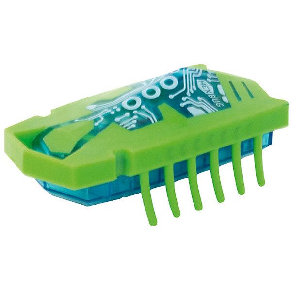 Микро-робот Nano Junior, зеленый, HexbugИнтерактивные игрушки для малышей<br>Микро-робот Nano Junior, зеленый, Hexbug (Хексбаг)<br><br>Характеристики:<br><br>• 12 лапок<br>• яркий дизайн<br>• быстро двигается<br>• устойчивый<br>• материал: пластик, металл<br>• длина робота: 7,5 см<br>• батарейки: LR44 - 3 шт. (входят в комплект)<br>• размер упаковки: 4х9х18 см<br>• цвет: зеленый<br><br>Nano Junior - микро-робот от известного производителя Hexbug. Он быстро шевелит двенадцатью лапками и двигается за счет вибрации. Нано Джуниор имеет достаточно большой размер, чтобы ребенок не смог его проглотить. Яркий дизайн микро-робота, несомненно, придется по вкусу детям и взрослым!<br><br>Микро-робота Nano Junior, зеленый, Hexbug (Хексбаг) вы можете купить в нашем интернет-магазине.<br><br>Ширина мм: 180<br>Глубина мм: 40<br>Высота мм: 90<br>Вес г: 51<br>Возраст от месяцев: 36<br>Возраст до месяцев: 2147483647<br>Пол: Унисекс<br>Возраст: Детский<br>SKU: 5507216