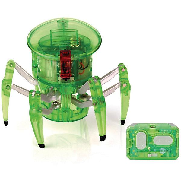 Микро-робот на управлении Спайдер, зеленый, HexbugИнтерактивные игрушки для малышей<br>Микро-робот на управлении Спайдер, зеленый, Hexbug (Хексбаг)<br><br>Характеристики:<br><br>• передвигается в любых направлениях<br>• светящийся глаз<br>• двухканальное управление<br>• для работы необходимы батарейки AG13 - 5 шт.<br>• размер: 7,7х9,1 см<br>• вес: 43 грамма<br>• цвет: зеленый<br><br>Микро-робот Спайдер - очень быстрый паучок, которым вы сможете управлять самостоятельно с помощью дистанционного пульта. По команде робот способен передвигаться в любую указанную сторону и вращаться на 360 градусов. Двухканальное управление позволит вам устроить настоящие гонки для двух роботов. Микро-робот Спайдер - интересный и увлекательный подарок для всей семьи!<br><br>Микро-робота на управлении Спайдер, зеленый, Hexbug (Хексбаг) вы можете купить в нашем интернет-магазине.<br>Ширина мм: 100; Глубина мм: 110; Высота мм: 130; Вес г: 126; Возраст от месяцев: 36; Возраст до месяцев: 2147483647; Пол: Унисекс; Возраст: Детский; SKU: 5507219;