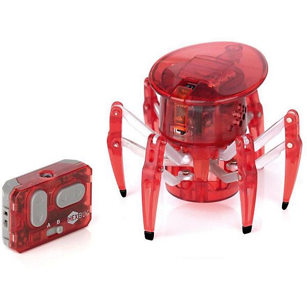 Микро-робот на управлении Спайдер, красный, HexbugИнтерактивные игрушки для малышей<br>Микро-робот на управлении Спайдер, красный, Hexbug (Хексбаг)<br><br>Характеристики:<br><br>• передвигается в любых направлениях<br>• светящийся глаз<br>• двухканальное управление<br>• для работы необходимы батарейки AG13 - 5 шт.<br>• размер: 7,7х9,1 см<br>• вес: 43 грамма<br>• цвет: красный<br><br>Микро-робот Спайдер - очень быстрый паучок, которым вы сможете управлять самостоятельно с помощью дистанционного пульта. По команде робот способен передвигаться в любую указанную сторону и вращаться на 360 градусов. Двухканальное управление позволит вам устроить настоящие гонки для двух роботов. Микро-робот Спайдер - интересный и увлекательный подарок для всей семьи!<br><br>Микро-робота на управлении Спайдер, красный, Hexbug (Хексбаг) вы можете купить в нашем интернет-магазине.<br><br>Ширина мм: 100<br>Глубина мм: 110<br>Высота мм: 130<br>Вес г: 126<br>Возраст от месяцев: 36<br>Возраст до месяцев: 2147483647<br>Пол: Унисекс<br>Возраст: Детский<br>SKU: 5507220
