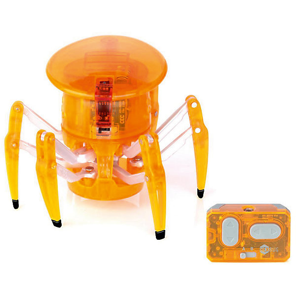 Микро-робот на управлении Спайдер, оранжевый, HexbugИнтерактивные животные<br>Микро-робот на управлении Спайдер, оранжевый, Hexbug (Хексбаг)<br><br>Характеристики:<br><br>• передвигается в любых направлениях<br>• светящийся глаз<br>• двухканальное управление<br>• для работы необходимы батарейки AG13 - 5 шт.<br>• размер: 7,7х9,1 см<br>• вес: 43 грамма<br>• цвет: оранжевый<br><br>Микро-робот Спайдер - очень быстрый паучок, которым вы сможете управлять самостоятельно с помощью дистанционного пульта. По команде робот способен передвигаться в любую указанную сторону и вращаться на 360 градусов. Двухканальное управление позволит вам устроить настоящие гонки для двух роботов. Микро-робот Спайдер - интересный и увлекательный подарок для всей семьи!<br><br>Микро-робота на управлении Спайдер, оранжевый, Hexbug (Хексбаг) вы можете купить в нашем интернет-магазине.<br>Ширина мм: 150; Глубина мм: 130; Высота мм: 150; Вес г: 145; Возраст от месяцев: 36; Возраст до месяцев: 2147483647; Пол: Унисекс; Возраст: Детский; SKU: 5507221;