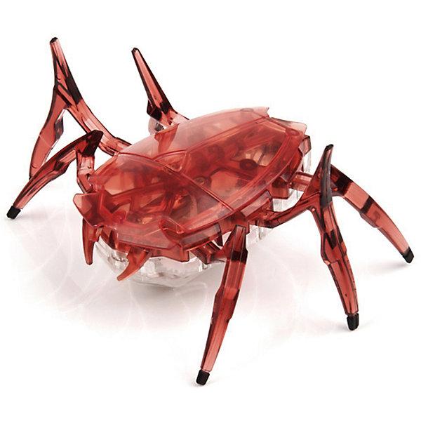 Микро-робот Cкарабей, вишневый, HexbugИнтерактивные животные<br>Микро-робот Cкарабей, вишневый, Hexbug (Хексбаг)<br><br>Характеристики:<br><br>• самостоятельно передвигается и переворачивается<br>• умеет толкать небольшие предметы<br>• мощный моторчик<br>• батарейки: AG13 - 3 шт. (входят в комплект)<br>• материал: пластик, металл<br>• размер: 6х7х4 см<br>• цвет: вишневый<br>• размер упаковки: 13х11,5х6 см<br>• вес: 40 грамм<br><br>Микро-робот Скарабей - маленькая копия своего прототипа. Как и жук скарабей, робот умеет толкать небольшие предметы, превышающие его собственный вес. Кроме того, робот не имеет датчиков и самостоятельно передвигается в любую сторону. При столкновении с препятствием робот отпрыгивает и разворачивается в другую сторону, чтобы продолжить свой путь. Даже если робот упадет на спинку, он быстро перевернется и побежит в нужном направлении. Такая игрушка позволит вам весело провести время всей семьей!<br><br>Микро-робота Cкарабей, вишневый, Hexbug (Хексбаг) вы можете купить в нашем интернет-магазине.<br>Ширина мм: 60; Глубина мм: 110; Высота мм: 130; Вес г: 47; Возраст от месяцев: 36; Возраст до месяцев: 2147483647; Пол: Унисекс; Возраст: Детский; SKU: 5507222;