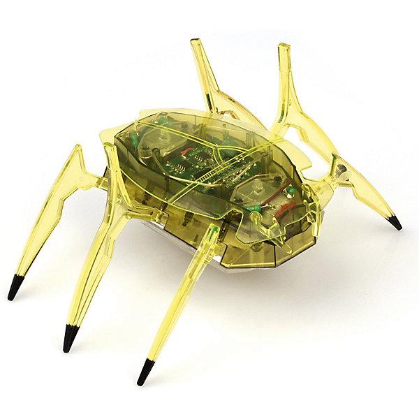 Микро-робот Cкарабей, зеленый, HexbugИнтерактивные игрушки для малышей<br>Микро-робот Cкарабей, зеленый, Hexbug (Хексбаг)<br><br>Характеристики:<br><br>• самостоятельно передвигается и переворачивается<br>• умеет толкать небольшие предметы<br>• мощный моторчик<br>• батарейки: AG13 - 3 шт. (входят в комплект)<br>• материал: пластик, металл<br>• размер: 6х7х4 см<br>• цвет: зеленый<br>• размер упаковки: 13х11,5х6 см<br>• вес: 40 грамм<br><br>Микро-робот Скарабей - маленькая копия своего прототипа. Как и жук скарабей, робот умеет толкать небольшие предметы, превышающие его собственный вес. Кроме того, робот не имеет датчиков и самостоятельно передвигается в любую сторону. При столкновении с препятствием робот отпрыгивает и разворачивается в другую сторону, чтобы продолжить свой путь. Даже если робот упадет на спинку, он быстро перевернется и побежит в нужном направлении. Такая игрушка позволит вам весело провести время всей семьей!<br><br>Микро-робота Cкарабей, зеленый, Hexbug (Хексбаг) вы можете купить в нашем интернет-магазине.<br>Ширина мм: 60; Глубина мм: 110; Высота мм: 130; Вес г: 47; Возраст от месяцев: 36; Возраст до месяцев: 2147483647; Пол: Унисекс; Возраст: Детский; SKU: 5507223;