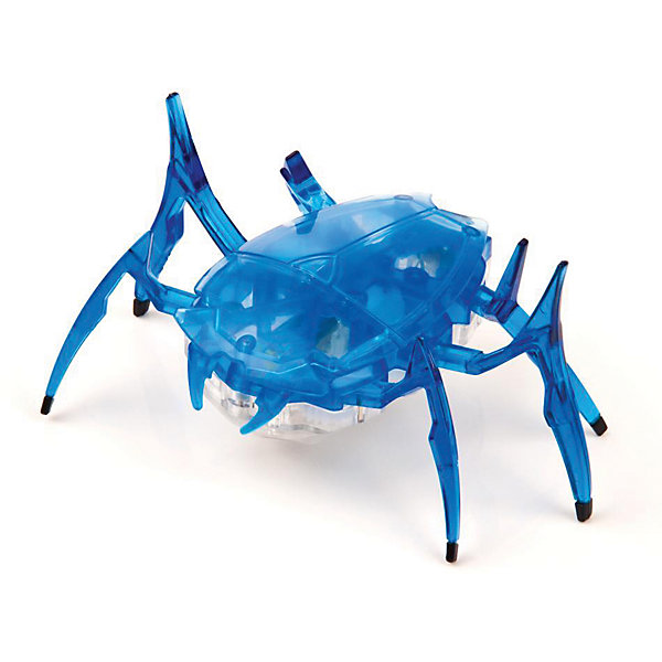 Микро-робот Cкарабей, синий, HexbugИнтерактивные игрушки для малышей<br>Микро-робот Cкарабей, синий, Hexbug (Хексбаг)<br><br>Характеристики:<br><br>• самостоятельно передвигается и переворачивается<br>• умеет толкать небольшие предметы<br>• мощный моторчик<br>• батарейки: AG13 - 3 шт. (входят в комплект)<br>• материал: пластик, металл<br>• размер: 6х7х4 см<br>• цвет: синий<br>• размер упаковки: 13х11,5х6 см<br>• вес: 40 грамм<br><br>Микро-робот Скарабей - маленькая копия своего прототипа. Как и жук скарабей, робот умеет толкать небольшие предметы, превышающие его собственный вес. Кроме того, робот не имеет датчиков и самостоятельно передвигается в любую сторону. При столкновении с препятствием робот отпрыгивает и разворачивается в другую сторону, чтобы продолжить свой путь. Даже если робот упадет на спинку, он быстро перевернется и побежит в нужном направлении. Такая игрушка позволит вам весело провести время всей семьей!<br><br>Микро-робота Cкарабей, синий, Hexbug (Хексбаг) вы можете купить в нашем интернет-магазине.<br><br>Ширина мм: 60<br>Глубина мм: 110<br>Высота мм: 130<br>Вес г: 47<br>Возраст от месяцев: 36<br>Возраст до месяцев: 2147483647<br>Пол: Унисекс<br>Возраст: Детский<br>SKU: 5507225