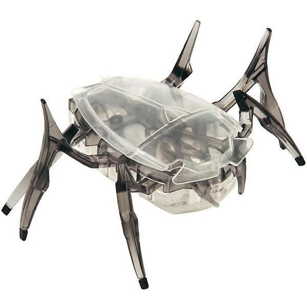 Микро-робот Cкарабей, черный, HexbugИнтерактивные игрушки для малышей<br>Микро-робот Cкарабей, черный, Hexbug (Хексбаг)<br><br>Характеристики:<br><br>• самостоятельно передвигается и переворачивается<br>• умеет толкать небольшие предметы<br>• мощный моторчик<br>• батарейки: AG13 - 3 шт. (входят в комплект)<br>• материал: пластик, металл<br>• размер: 6х7х4 см<br>• цвет: черный<br>• размер упаковки: 13х11,5х6 см<br>• вес: 40 грамм<br><br>Микро-робот Скарабей - маленькая копия своего прототипа. Как и жук скарабей, робот умеет толкать небольшие предметы, превышающие его собственный вес. Кроме того, робот не имеет датчиков и самостоятельно передвигается в любую сторону. При столкновении с препятствием робот отпрыгивает и разворачивается в другую сторону, чтобы продолжить свой путь. Даже если робот упадет на спинку, он быстро перевернется и побежит в нужном направлении. Такая игрушка позволит вам весело провести время всей семьей!<br><br>Микро-робота Cкарабей, черный, Hexbug (Хексбаг) вы можете купить в нашем интернет-магазине.<br><br>Ширина мм: 60<br>Глубина мм: 110<br>Высота мм: 130<br>Вес г: 47<br>Возраст от месяцев: 36<br>Возраст до месяцев: 2147483647<br>Пол: Унисекс<br>Возраст: Детский<br>SKU: 5507226