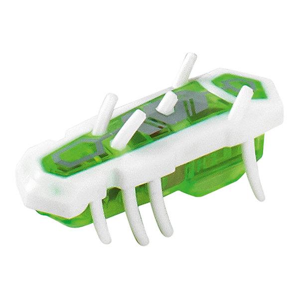 Микро-робот Nano Nitro Single, бело-зеленый, HexbugИнтерактивные игрушки для малышей<br>Микро-робот Nano Nitro Single, бело-зеленый, Hexbug (Хексбаг)<br><br>Характеристики:<br><br>• быстро меняет траекторию движения<br>• самостоятельно переворачивается<br>• карабкается наверх<br>• мощный моторчик<br>• устойчив к повреждениям<br>• 8 ножек снизу и 5 сверху<br>• батарейки: AG13 - 1 шт. (входит в комплект)<br>• размер: 1,4х2х4,2 см<br>• вес: 8 грамм<br>• цвет: бело-зеленый<br>• материал: пластик<br>• размер упаковки: 13х5х3 см<br>• вес: 65 грамм<br><br>Микро-робот Nano Nitro Single очень напоминает настоящего жучка. Он также быстро бегает, меняет траекторию движения и даже самостоятельно переворачивается в случае падения. Благодаря усовершенствованному моторчику жучок способен карабкаться наверх по специальным трубочкам. Игрушка подходит для старых и новых моделей нанодромов Hexbug.<br><br>Микро-робота Nano Nitro Single, бело-зеленый, Hexbug (Хексбаг) вы можете купить в нашем интернет-магазине.<br><br>Ширина мм: 130<br>Глубина мм: 25<br>Высота мм: 25<br>Вес г: 30<br>Возраст от месяцев: 36<br>Возраст до месяцев: 2147483647<br>Пол: Унисекс<br>Возраст: Детский<br>SKU: 5507227