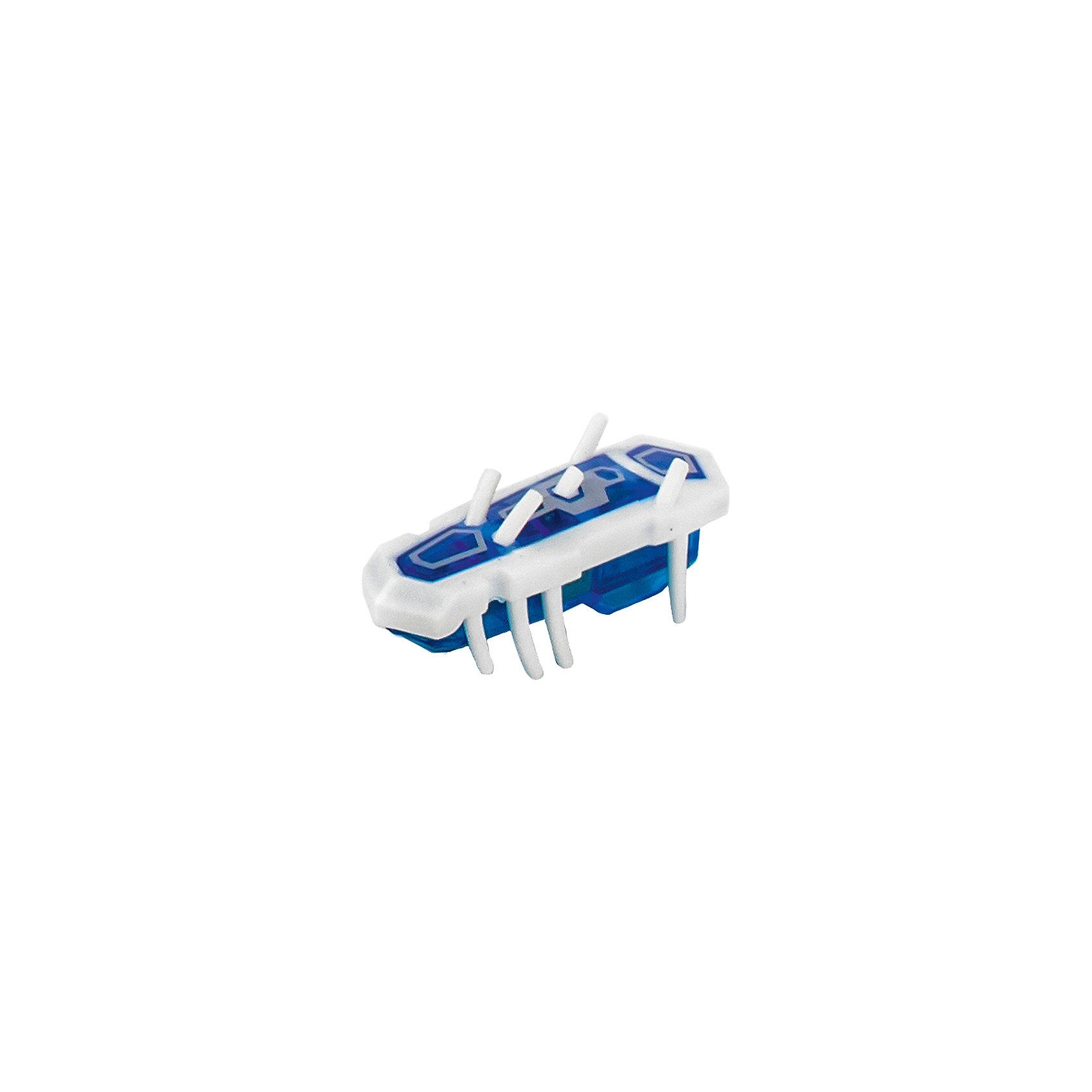 Микро-робот Nano Nitro Single, бело-синий, HexbugИнтерактивные игрушки для малышей<br>Микро-робот Nano Nitro Single, бело-синий, Hexbug (Хексбаг)<br><br>Характеристики:<br><br>• быстро меняет траекторию движения<br>• самостоятельно переворачивается<br>• карабкается наверх<br>• мощный моторчик<br>• устойчив к повреждениям<br>• 8 ножек снизу и 5 сверху<br>• батарейки: AG13 - 1 шт. (входит в комплект)<br>• размер: 1,4х2х4,2 см<br>• вес: 8 грамм<br>• цвет: бело-синий<br>• материал: пластик<br>• размер упаковки: 13х5х3 см<br>• вес: 65 грамм<br><br>Микро-робот Nano Nitro Single очень напоминает настоящего жучка. Он также быстро бегает, меняет траекторию движения и даже самостоятельно переворачивается в случае падения. Благодаря усовершенствованному моторчику жучок способен карабкаться наверх по специальным трубочкам. Игрушка подходит для старых и новых моделей нанодромов Hexbug.<br><br>Микро-робота Nano Nitro Single, бело-синий, Hexbug (Хексбаг) вы можете купить в нашем интернет-магазине.<br><br>Ширина мм: 9999<br>Глубина мм: 9999<br>Высота мм: 9999<br>Вес г: 9999<br>Возраст от месяцев: 36<br>Возраст до месяцев: 2147483647<br>Пол: Унисекс<br>Возраст: Детский<br>SKU: 5507228