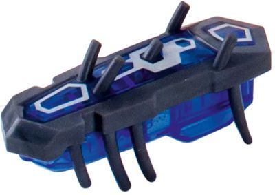 Микро-робот Nano Nitro Single , серо-синий, Hexbug фото-1