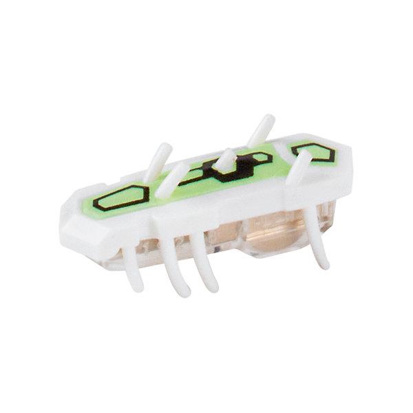 Микро-робот Nitro Glow , белый, HexbugИнтерактивные игрушки для малышей<br>Микро-робот Nitro Glow, белый, Hexbug (Хексбаг)<br><br>Характеристики:<br><br>• быстро меняет траекторию движения<br>• самостоятельно переворачивается<br>• карабкается наверх<br>• мощный моторчик<br>• устойчив к повреждениям<br>• 8 ножек снизу и 5 сверху<br>• батарейки: AG13 - 1 шт. (входит в комплект)<br>• размер: 1,4х2х4,2 см<br>• вес: 8 грамм<br>• цвет: белый<br>• материал: пластик<br>• размер упаковки: 13х5х3 см<br>• вес: 65 грамм<br><br>Маленький робот Nitro Glow невероятно быстрый и ловкий. Он способен двигаться в любом направлении, передвигая своими крохотными лапками. Не спешите поднимать микро-робота, если он повернулся на спинку - Nitro Glow сможет самостоятельно перевернуться и продолжить забег. Благодаря усовершенствованным технологиям и пяти верхним лапкам жучок научился взбираться по специальным трубочкам из лабиринтов нанодрома. При этом старые лабиринты тоже отлично подойдут для микро-робота.<br><br>Микро-робота Nitro Glow, белый, Hexbug (Хексбаг) можно купить в нашем интернет-магазине.<br>Ширина мм: 130; Глубина мм: 25; Высота мм: 25; Вес г: 30; Возраст от месяцев: 36; Возраст до месяцев: 2147483647; Пол: Унисекс; Возраст: Детский; SKU: 5507233;