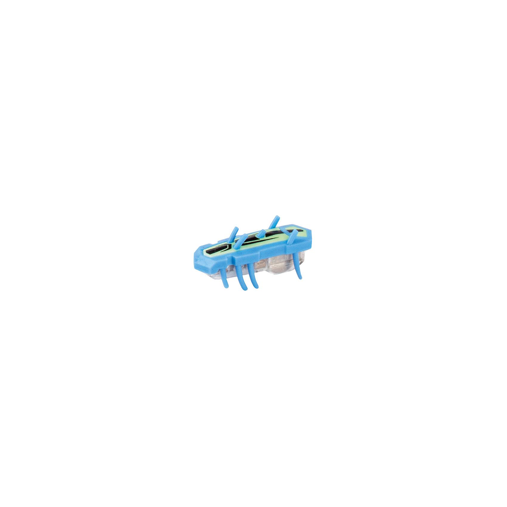 Микро-робот Nitro Glow , голубой, HexbugИнтерактивные игрушки для малышей<br>Микро-робот Nitro Glow, голубой, Hexbug (Хексбаг)<br><br>Характеристики:<br><br>• быстро меняет траекторию движения<br>• самостоятельно переворачивается<br>• карабкается наверх<br>• мощный моторчик<br>• устойчив к повреждениям<br>• 8 ножек снизу и 5 сверху<br>• батарейки: AG13 - 1 шт. (входит в комплект)<br>• размер: 1,4х2х4,2 см<br>• вес: 8 грамм<br>• цвет: голубой<br>• материал: пластик<br>• размер упаковки: 13х5х3 см<br>• вес: 65 грамм<br><br>Маленький робот Nitro Glow невероятно быстрый и ловкий. Он способен двигаться в любом направлении, передвигая своими крохотными лапками. Не спешите поднимать микро-робота, если он повернулся на спинку - Nitro Glow сможет самостоятельно перевернуться и продолжить забег. Благодаря усовершенствованным технологиям и пяти верхним лапкам жучок научился взбираться по специальным трубочкам из лабиринтов нанодрома. При этом старые лабиринты тоже отлично подойдут для микро-робота.<br><br>Микро-робота Nitro Glow, голубой, Hexbug (Хексбаг) можно купить в нашем интернет-магазине.<br><br>Ширина мм: 130<br>Глубина мм: 25<br>Высота мм: 25<br>Вес г: 30<br>Возраст от месяцев: 36<br>Возраст до месяцев: 2147483647<br>Пол: Унисекс<br>Возраст: Детский<br>SKU: 5507234