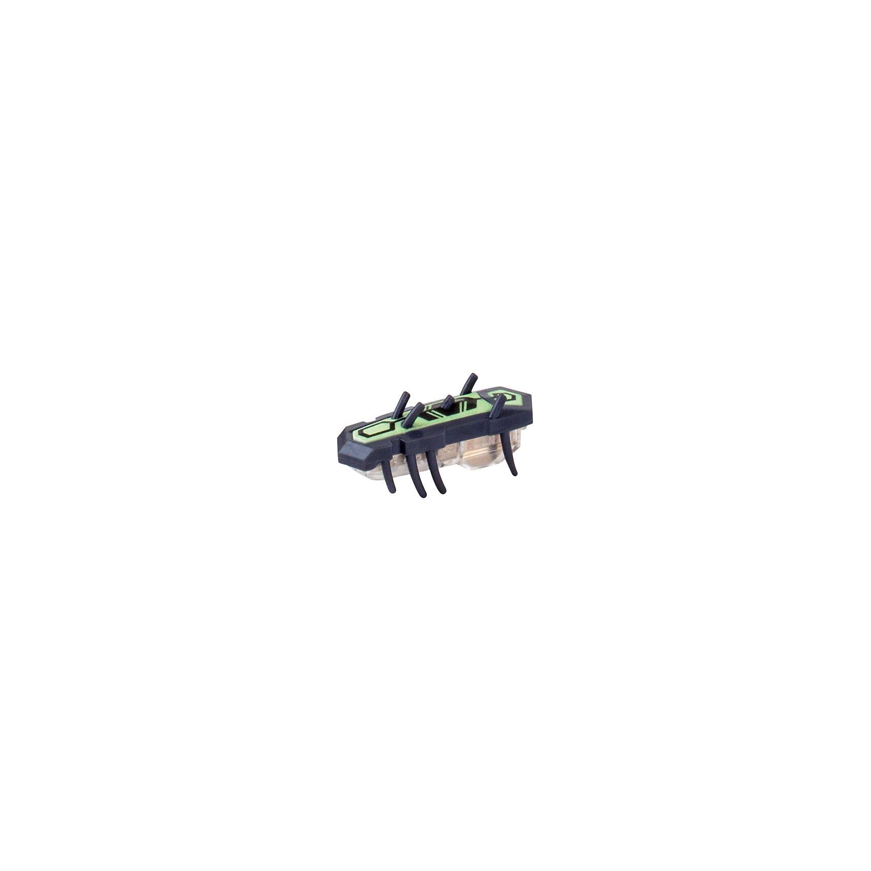Микро-робот Nitro Glow , черный, HexbugИнтерактивные игрушки для малышей<br>Микро-робот Nitro Glow, черный, Hexbug (Хексбаг)<br><br>Характеристики:<br><br>• быстро меняет траекторию движения<br>• самостоятельно переворачивается<br>• карабкается наверх<br>• мощный моторчик<br>• устойчив к повреждениям<br>• 8 ножек снизу и 5 сверху<br>• батарейки: AG13 - 1 шт. (входит в комплект)<br>• размер: 1,4х2х4,2 см<br>• вес: 8 грамм<br>• цвет: черный<br>• материал: пластик<br>• размер упаковки: 13х5х3 см<br>• вес: 65 грамм<br><br>Маленький робот Nitro Glow невероятно быстрый и ловкий. Он способен двигаться в любом направлении, передвигая своими крохотными лапками. Не спешите поднимать микро-робота, если он повернулся на спинку - Nitro Glow сможет самостоятельно перевернуться и продолжить забег. Благодаря усовершенствованным технологиям и пяти верхним лапкам жучок научился взбираться по специальным трубочкам из лабиринтов нанодрома. При этом старые лабиринты тоже отлично подойдут для микро-робота.<br><br>Микро-робота Nitro Glow, черный, Hexbug (Хексбаг) можно купить в нашем интернет-магазине.<br><br>Ширина мм: 130<br>Глубина мм: 25<br>Высота мм: 25<br>Вес г: 30<br>Возраст от месяцев: 36<br>Возраст до месяцев: 2147483647<br>Пол: Унисекс<br>Возраст: Детский<br>SKU: 5507236