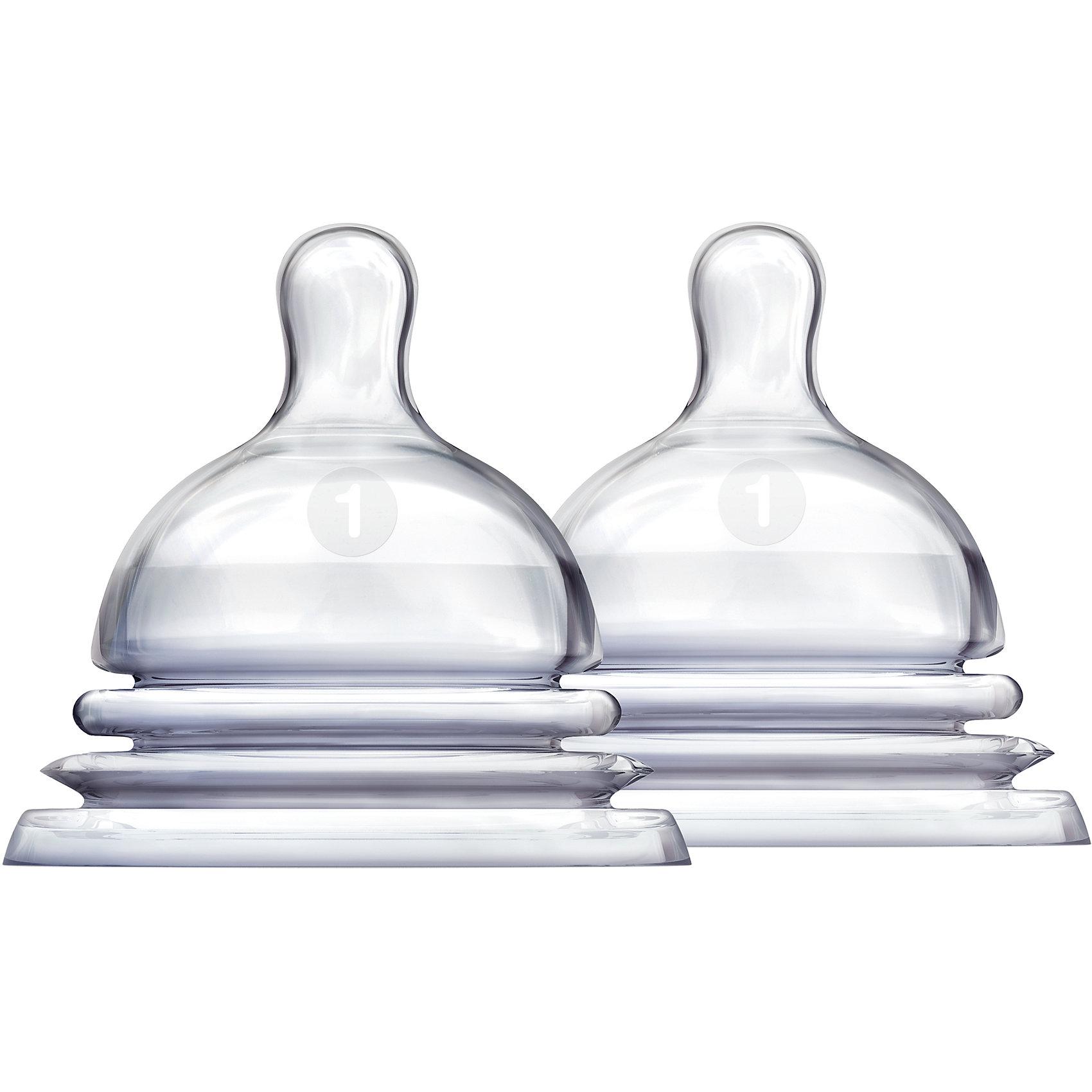 Соска силиконовая LATCH , 2шт., MunchkinОсобое гибкое основание соски, напоминающее гармошку, позволяет держать бутылочку под углом, при этом ребенок комфортно себя чувствует во время кормления даже при смене положения тела. Широкое основание и форма соски обеспечивает правильный захват соски ребенком, что препятствует заглатыванию воздуха и снижает вероятность возникновения коликов; поток соскиLatchразмер 1 (0+) был специально уменьшен, чтобы максимально приблизить форму соски к форме женского соска; соска обеспечивает максимально естественное кормление, приближенное к грудному; подходят для мытья в верхней части посудомоечной машины; в комплекте 2 штуки<br><br>Ширина мм: 90<br>Глубина мм: 90<br>Высота мм: 150<br>Вес г: 50<br>Возраст от месяцев: 0<br>Возраст до месяцев: 6<br>Пол: Унисекс<br>Возраст: Детский<br>SKU: 5507251