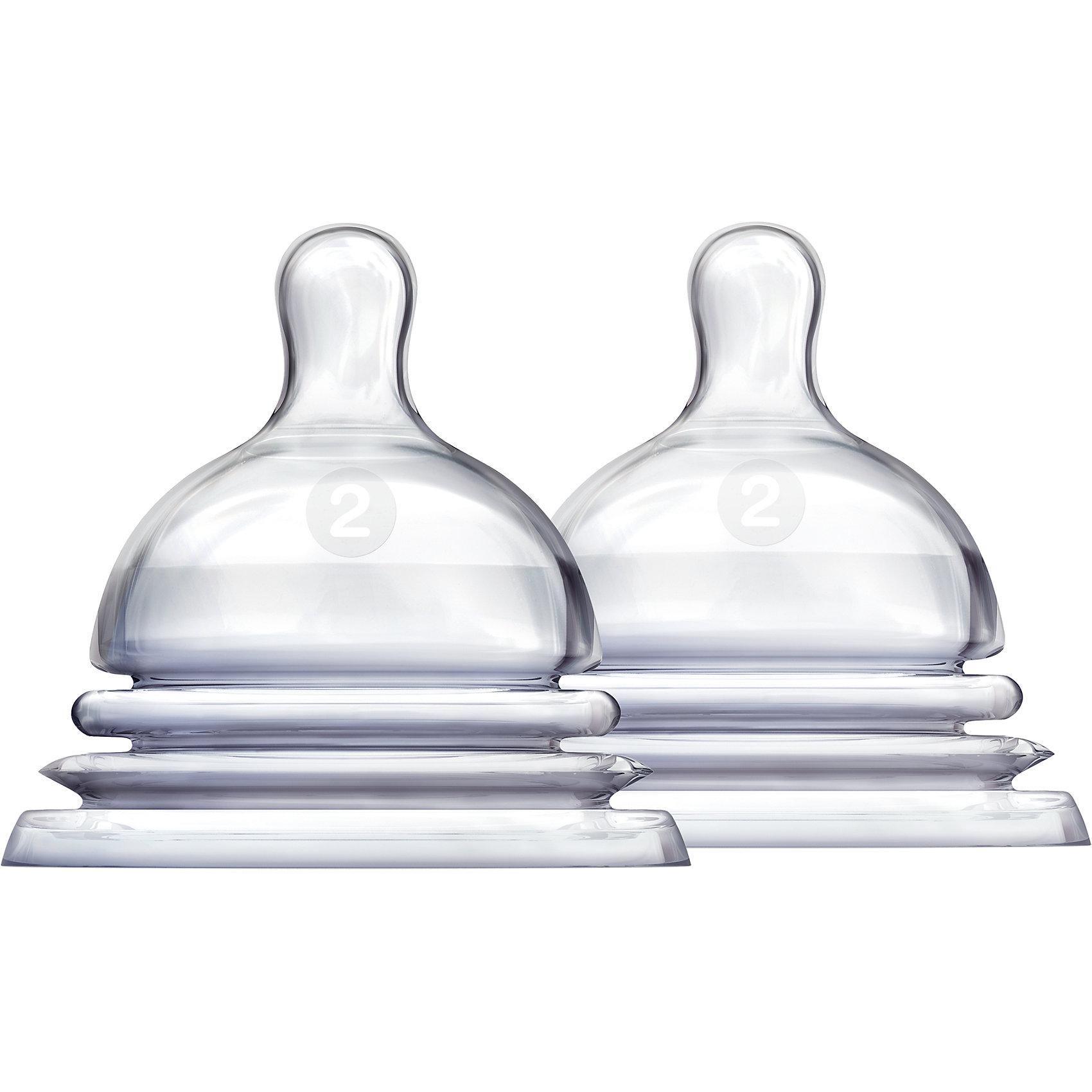 Соска силиконовая LATCH , 2шт., MunchkinБутылочки и аксессуары<br>Соска силиконовая LATCH , 2шт., Munchkin  (Манчкин)<br><br>Характеристики:<br><br>• имитация кормления из материнской груди<br>• гибкое основание соски<br>• усовершенствованный захват<br>• поток соски: 2 <br>• для детей с 3 месяцев<br>• в комплекте: 2 соски<br>• материал соски: силикон<br>• размер упаковки: 9х15х7 см<br>• вес: 50 грамм<br><br>Соски LATCH изготовлены из силикона без содержания опасных веществ. В комплект входят две соски для детей с 3 месяцев. Каждая соска имеет гибкое основание, выполненное в виде гармошки. Во время кормления оно разжимается и сжимается, чтобы ребенок мог есть в любом положении. Форма соски имеет форму, соответствующую анатомическим особенностям женской груди. Кроме того, форма обеспечивает усовершенствованный захват, препятствующий возникновению коликов и газообразования. Соски можно мыть в верхней части посудомоечной машины.<br><br>Соску силиконовую LATCH , 2шт., Munchkin (Манчкин)  вы можете купить в нашем интернет-магазине.<br><br>Ширина мм: 70<br>Глубина мм: 150<br>Высота мм: 90<br>Вес г: 50<br>Возраст от месяцев: 3<br>Возраст до месяцев: 2147483647<br>Пол: Унисекс<br>Возраст: Детский<br>SKU: 5507252