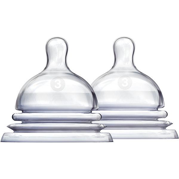 Соска силиконовая LATCH , 2шт., MunchkinБутылочки и аксессуары<br>Соска силиконовая LATCH , 2шт., Munchkin  (Манчкин)<br><br>Характеристики:<br><br>• имитация кормления из материнской груди<br>• гибкое основание соски<br>• усовершенствованный захват<br>• поток соски: 3<br>• для детей с 6 месяцев<br>• в комплекте: 2 соски<br>• материал соски: силикон<br>• размер упаковки: 9х15х7 см<br>• вес: 50 грамм<br><br>Соски LATCH изготовлены из силикона без содержания опасных веществ. В комплект входят две соски для детей с 6 месяцев. Каждая соска имеет гибкое основание, выполненное в виде гармошки. Во время кормления оно разжимается и сжимается, чтобы ребенок мог есть в любом положении. Форма соски имеет форму, соответствующую анатомическим особенностям женской груди. Кроме того, форма обеспечивает усовершенствованный захват, препятствующий возникновению коликов и газообразования. Соски можно мыть в верхней части посудомоечной машины.<br><br>Соску силиконовую LATCH , 2шт., Munchkin (Манчкин)  вы можете купить в нашем интернет-магазине.<br>Ширина мм: 70; Глубина мм: 150; Высота мм: 90; Вес г: 50; Возраст от месяцев: 3; Возраст до месяцев: 2147483647; Пол: Унисекс; Возраст: Детский; SKU: 5507253;