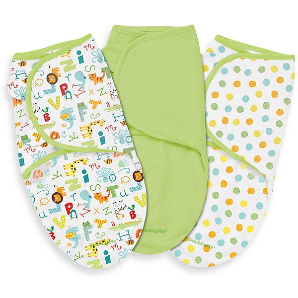 Конверт на липучке Swaddleme, размер S/M, 3шт., Summer Infant, зеленый /алфавит/горошкиКонверты для пеленания<br>Характеристики конверта на липучке Swaddleme: <br><br>• конверт-мешок для детей первого года жизни;<br>• не сковывает движения ребенка;<br>• снижает рефлекс вздрагивания;<br>• конверт оснащен крыльями, малыш не сможет «освободиться» во время движений ручками;<br>• объятия крыльев регулируются по мере роста ребенка;<br>• тип застежки: липучки;<br>• отверстие в области ног ребенка для смены подгузника;<br>• размер конверта: S/M;<br>• длина конверта: 55 см;<br>• рост ребенка: 56-62 см;<br>• вес ребенка: 3-6 кг;<br>• возраст ребенка: от рождения до 3-х месяцев;<br>• состав ткани: 100% хлопок.<br><br>Конверт-мешок на липучке позволяет деткам первого года жизни вести себя спокойнее во сне, снижает рефлекс вздрагивания, при этом конверт не сковывает движений ребенка. Ручки обтянуты мягкими эластичными «крыльями» конверта, а ножками ребенок может легко теребить. Регулируемые объятия крыльев дают возможность подгонять размер конверта в зависимости от его роста и веса. Отверстие конверта в области ножек малыша дает возможность контролировать наполненность подгузника, чтобы осуществить своевременную его замену. <br><br>Количество в упаковке: 3 шт.<br>Размер упаковки: 27х21х4,5 см<br>Вес: 400 г<br><br>Конверт на липучке Swaddleme, размер S/M, 3шт., Summer Infant, зеленый /алфавит/горошки можно купить в нашем интернет-магазине.<br><br>Ширина мм: 210<br>Глубина мм: 270<br>Высота мм: 45<br>Вес г: 400<br>Возраст от месяцев: 0<br>Возраст до месяцев: 3<br>Пол: Унисекс<br>Возраст: Детский<br>SKU: 5507990