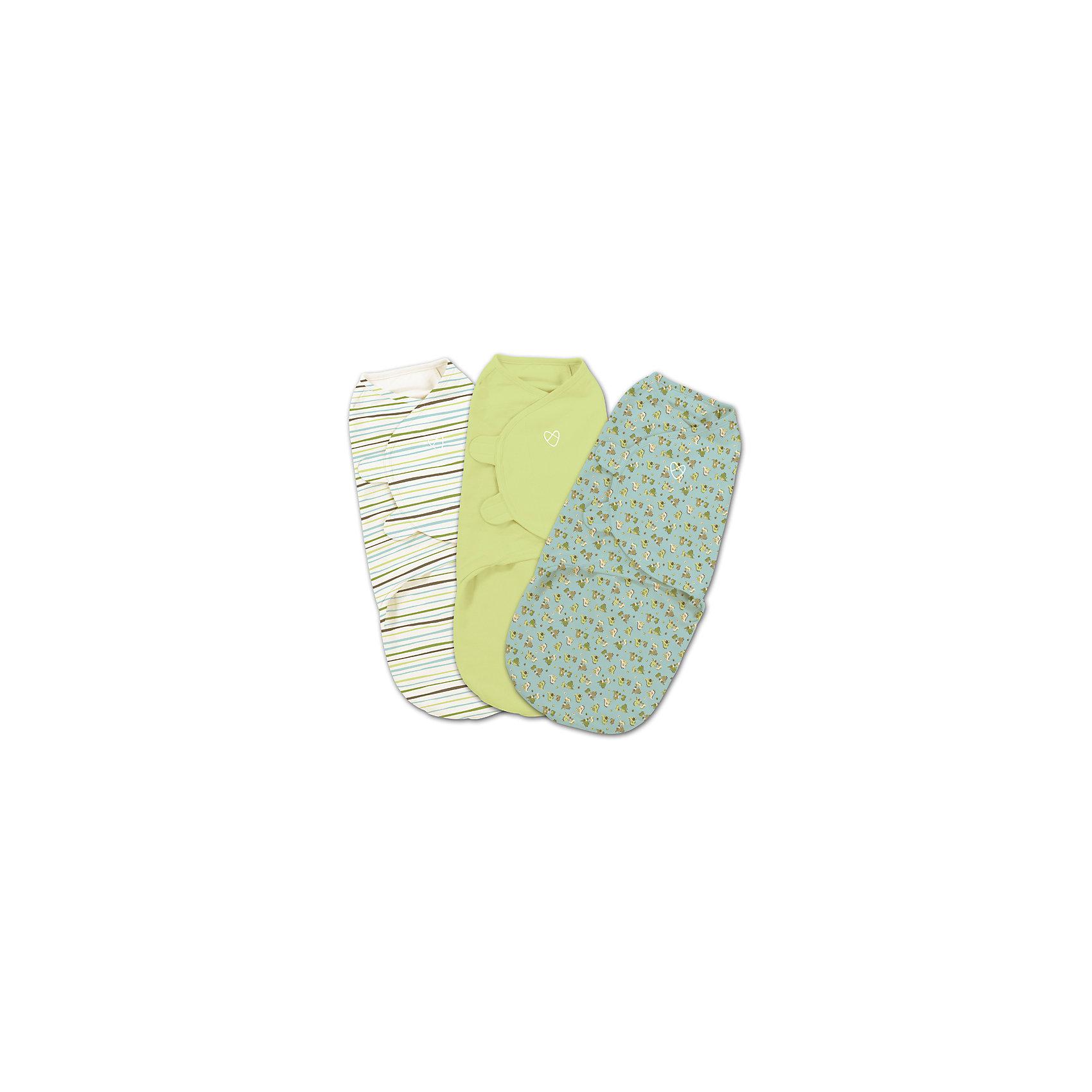 Конверт на липучке Swaddleme, размер S/M, 3шт., Summer Infant, зеленый/голубой/динозаврыПеленание<br>Мягко облегая, конверт не ограничивает движение ребенка, и в тоже время помогает снизить рефлекс внезапного вздрагивания, благодаря этому сон малыша и родителей будет более крепким.<br>Регулируемые крылья для закрытия конверта сделаны таким образом, что даже самый активный ребенок не сможет распеленаться во время сна.<br>Объятия крыльев регулируются по мере роста ребенка.<br>Конверт можно открыть в области ног малыша для легкой смены подгузников - нет необходимости разворачивать детские ручки. Длина конверта: S/M- 55 см. (от 3 до 6 кг)<br><br>Ширина мм: 210<br>Глубина мм: 270<br>Высота мм: 45<br>Вес г: 400<br>Возраст от месяцев: 0<br>Возраст до месяцев: 3<br>Пол: Мужской<br>Возраст: Детский<br>SKU: 5507991