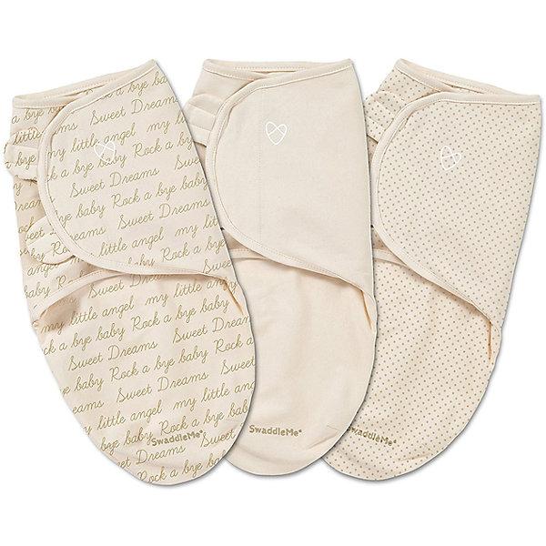 Конверт на липучке Swaddleme, размер S/M, 3шт., Summer Infant, кремовый/курсив/точкиКонверты для пеленания<br>Характеристики конверта на липучке Swaddleme: <br><br>• конверт-мешок для детей первого года жизни;<br>• не сковывает движения ребенка;<br>• снижает рефлекс вздрагивания;<br>• конверт оснащен крыльями, малыш не сможет «освободиться» во время движений ручками;<br>• объятия крыльев регулируются по мере роста ребенка;<br>• тип застежки: липучки;<br>• отверстие в области ног ребенка для смены подгузника;<br>• размер конверта: S/M;<br>• длина конверта: 55 см;<br>• рост ребенка: 56-62 см;<br>• вес ребенка: 3-6 кг;<br>• возраст ребенка: от рождения до 3-х месяцев;<br>• состав ткани: 100% хлопок.<br><br>Конверт-мешок на липучке позволяет деткам первого года жизни вести себя спокойнее во сне, снижает рефлекс вздрагивания, при этом конверт не сковывает движений ребенка. Ручки обтянуты мягкими эластичными «крыльями» конверта, а ножками ребенок может легко теребить. Регулируемые объятия крыльев дают возможность подгонять размер конверта в зависимости от его роста и веса. Отверстие конверта в области ножек малыша дает возможность контролировать наполненность подгузника, чтобы осуществить своевременную его замену. <br><br>Количество в упаковке: 3 шт.<br>Размер упаковки: 27х21х4,5 см<br>Вес: 400 г<br><br>Конверт на липучке Swaddleme, размер S/M, 3шт., Summer Infant, кремовый/курсив/точки можно купить в нашем интернет-магазине.<br><br>Ширина мм: 210<br>Глубина мм: 270<br>Высота мм: 45<br>Вес г: 400<br>Возраст от месяцев: 0<br>Возраст до месяцев: 3<br>Пол: Унисекс<br>Возраст: Детский<br>SKU: 5507992