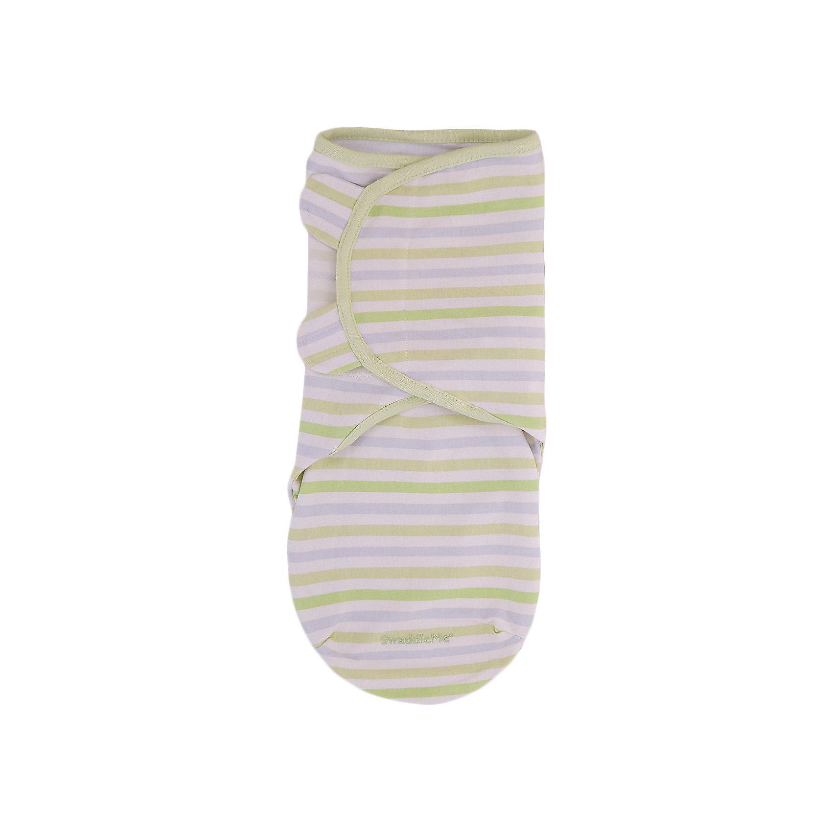 Конверт на липучке Swaddleme, размер S/M, Summer Infant, серо-зеленый,  полоскиПеленание<br>Характеристики конверта на липучке Swaddleme: <br><br>• конверт-мешок для детей первого года жизни;<br>• не сковывает движения ребенка;<br>• снижает рефлекс вздрагивания;<br>• конверт оснащен крыльями, малыш не сможет «освободиться» во время движений ручками;<br>• объятия крыльев регулируются по мере роста ребенка;<br>• тип застежки: липучки;<br>• отверстие в области ног ребенка для смены подгузника;<br>• размер конверта: S/M;<br>• длина конверта: 55 см;<br>• рост ребенка: 56-62 см;<br>• вес ребенка: 3-6 кг;<br>• возраст ребенка: от рождения до 3-х месяцев;<br>• состав ткани: 100% хлопок.<br><br>Конверт-мешок на липучке позволяет деткам первого года жизни вести себя спокойнее во сне, снижает рефлекс вздрагивания, при этом конверт не сковывает движений ребенка. Ручки обтянуты мягкими эластичными «крыльями» конверта, а ножками ребенок может легко теребить. Регулируемые объятия крыльев дают возможность подгонять размер конверта в зависимости от его роста и веса. Отверстие конверта в области ножек малыша дает возможность контролировать наполненность подгузника, чтобы осуществить своевременную его замену. <br><br>Размер упаковки: 27х15х2,5 см<br>Вес: 180 г<br><br>Конверт на липучке Swaddleme, размер S/M, Summer Infant, серо-зеленый, полоски можно купить в нашем интернет-магазине.<br><br>Ширина мм: 150<br>Глубина мм: 270<br>Высота мм: 25<br>Вес г: 180<br>Возраст от месяцев: 0<br>Возраст до месяцев: 3<br>Пол: Унисекс<br>Возраст: Детский<br>SKU: 5507999