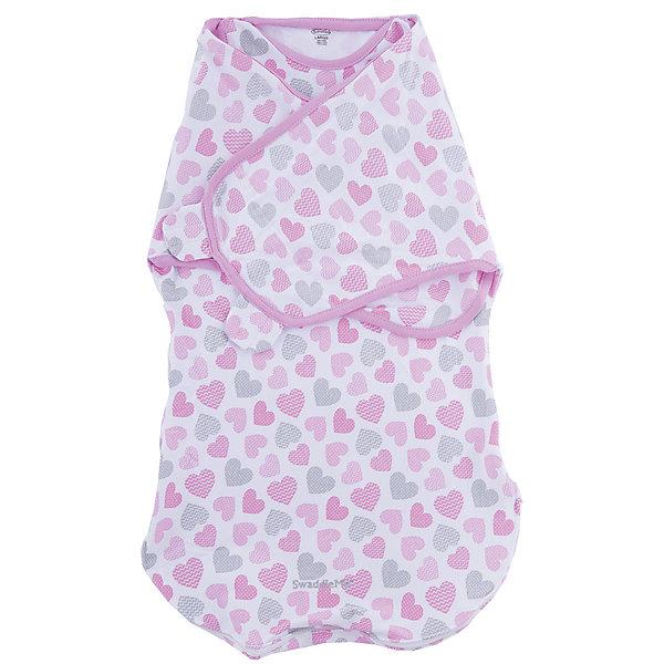 Конверт на липучке Wrap Sack, размер L, Summer Infant, сердечкиКонверты для пеленания<br>Характеристики конверта на липучке Wrap Sack:<br><br>• практичная пеленка 2в1 для ребенка: конверт с крыльями и мешок для сна с прорезями для ручек;<br>• два способа фиксации;<br>• мешок для сна можно использовать вместо одеяла;<br>• руки можно запеленать, можно оставить их свободными;<br>• находясь в конверте, ребенок может спокойно двигать ножками;<br>• тип застежки: липучка;<br>• материал: 100% хлопок;<br>• размер конверта: L;<br>• вес ребенка: 6-10 кг;<br>• рост ребенка: 68-72 см;<br>• возраст ребенка: от 4 до 9 месяцев.<br><br>Практичный конверт с двумя способами фиксации дает возможность снизить рефлекторное движение ребенка ручками во сне – рефлекс вздрагивания. Ручки прилегают к туловищу, ребеночек не будит ручками себя во сне. Также можно использовать конверт как мешок для сна, когда ручки будут открыты, малыш сможет спокойно их рассматривать, шевелить ручками.<br><br>Размер упаковки: 31х22,5х20 см<br>Вес: 300 г<br><br>Конверт на липучке Wrap Sack, размер L, Summer Infant, сердечки можно купить в нашем интернет-магазине.<br>Ширина мм: 225; Глубина мм: 310; Высота мм: 20; Вес г: 300; Возраст от месяцев: 3; Возраст до месяцев: 9; Пол: Женский; Возраст: Детский; SKU: 5508002;