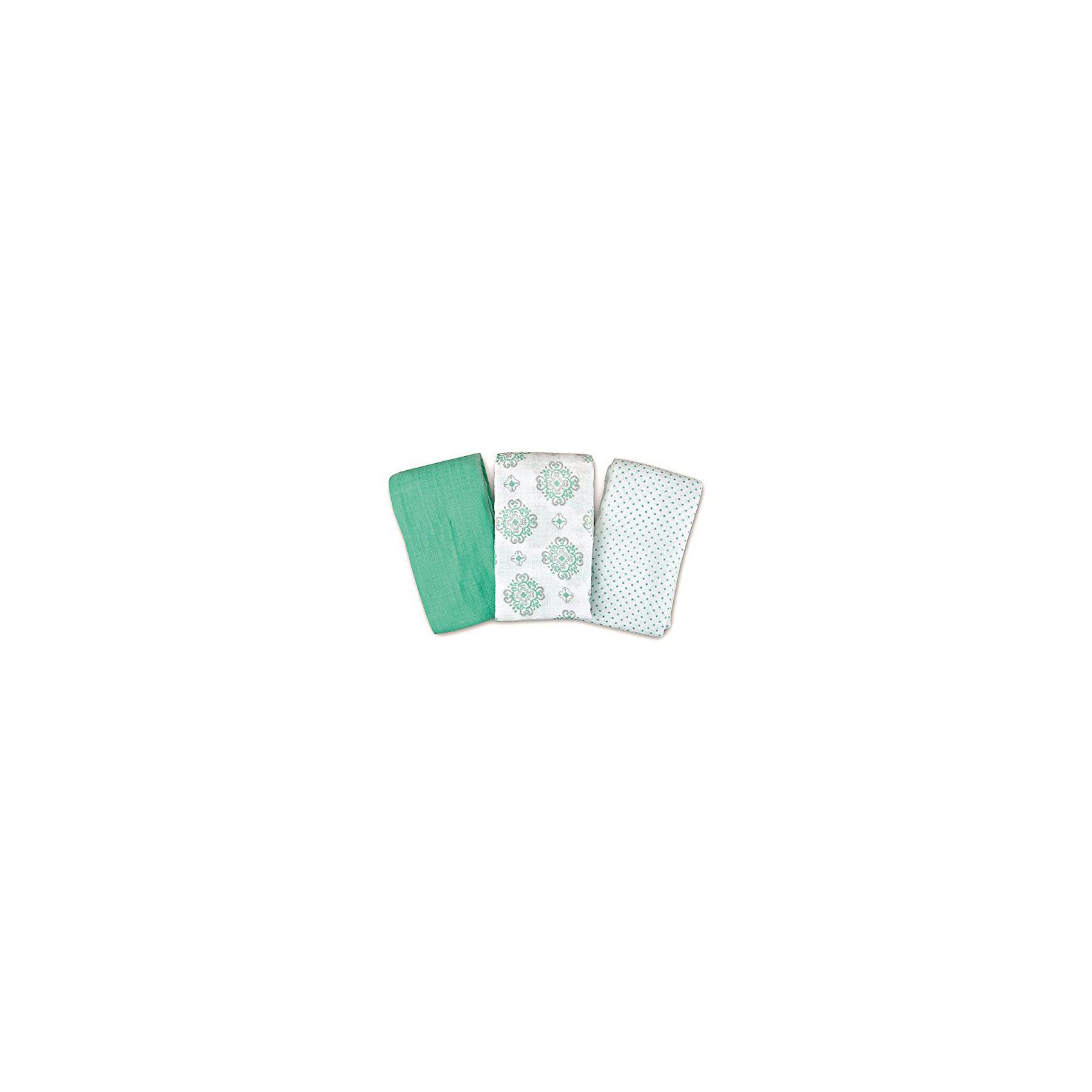Набор пеленок Muslin Swaddleme, 3 шт., Summer Infant, бирюзовый/орнаментПеленание<br>Характеристики пеленок Muslin Swaddleme:<br><br>• натуральное волокно пеленок;<br>• свободное движение воздуха;<br>• мягкость дышащего материала;<br>• состав ткани: 100% муслин (тонкотканный хлопок);<br>• размер пеленки: 102х102 см;<br>• количество в упаковке: 3 шт.;<br>• размер упаковки: 32х20,5х4 см;<br>• вес: 430 г.<br><br>Пеленки используются с первых дней жизни ребенка. Пригодны для пеленания, для покрытия пеленального столика, родительской кровати, дна ванночки. Мягкие и дышащие пеленки украшены различными принтами. <br><br>Набор пеленок Muslin Swaddleme, 3 шт., Summer Infant, бирюзовый/орнамент можно купить в нашем интернет-магазине.<br><br>Ширина мм: 205<br>Глубина мм: 320<br>Высота мм: 40<br>Вес г: 430<br>Возраст от месяцев: 0<br>Возраст до месяцев: 3<br>Пол: Унисекс<br>Возраст: Детский<br>SKU: 5508005