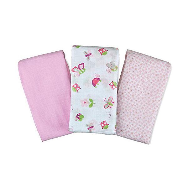 Набор пеленок Muslin Swaddleme, 3 шт.,Summer Infant, розовый/бабочкиПеленки для новорожденных<br>Характеристики пеленок Muslin Swaddleme:<br><br>• натуральное волокно пеленок;<br>• свободное движение воздуха;<br>• мягкость дышащего материала;<br>• состав ткани: 100% муслин (тонкотканный хлопок);<br>• размер пеленки: 102х102 см;<br>• количество в упаковке: 3 шт.;<br>• размер упаковки: 32х20,5х4 см;<br>• вес: 430 г.<br><br>Пеленки используются с первых дней жизни ребенка. Пригодны для пеленания, для покрытия пеленального столика, родительской кровати, дна ванночки. Мягкие и дышащие пеленки украшены различными принтами. <br><br>Набор пеленок Muslin Swaddleme, 3 шт., Summer Infant, розовый/бабочки можно купить в нашем интернет-магазине.<br>Ширина мм: 205; Глубина мм: 320; Высота мм: 40; Вес г: 430; Цвет: розовый; Возраст от месяцев: 0; Возраст до месяцев: 3; Пол: Женский; Возраст: Детский; SKU: 5508007;