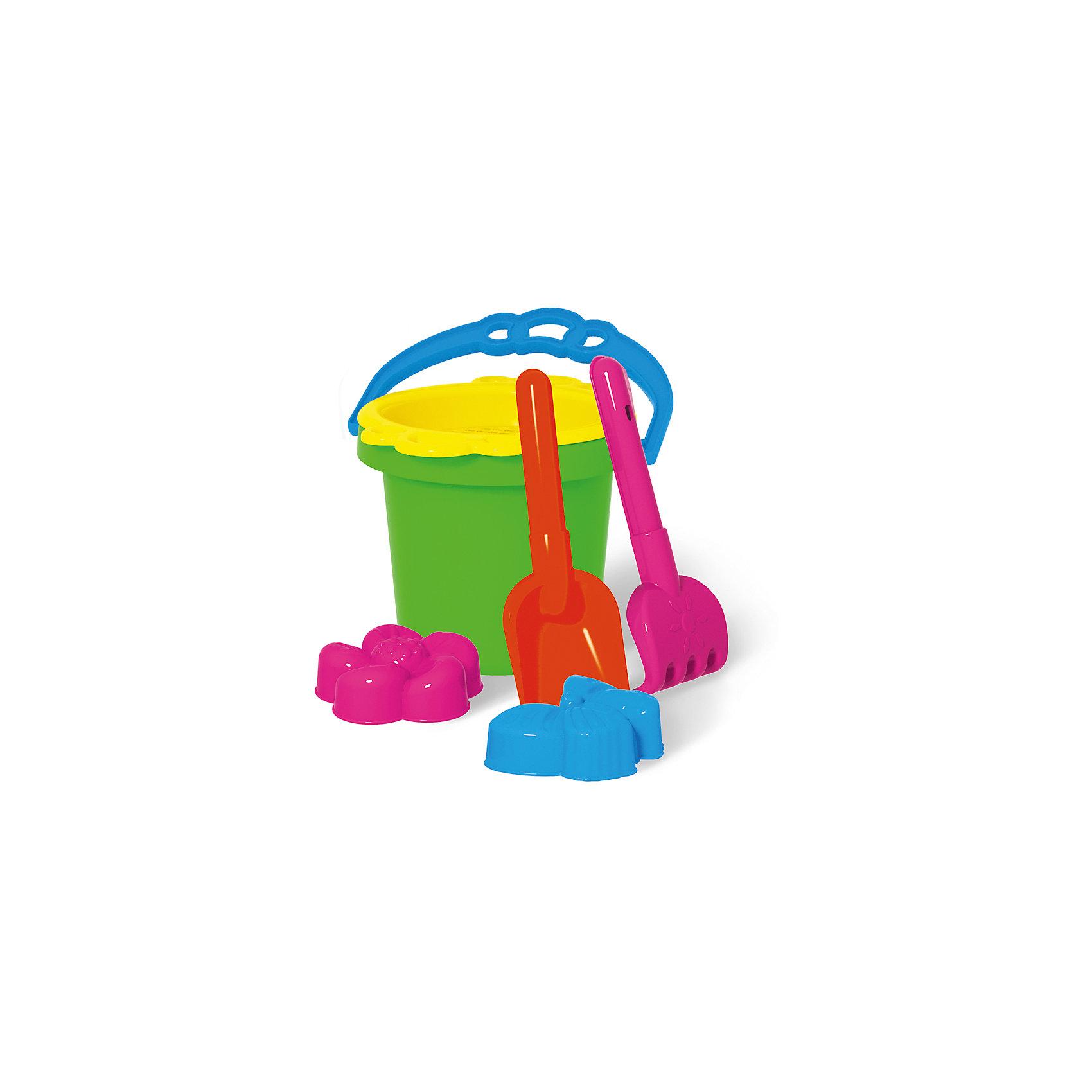 Песочный набор №112, СтелларПесочный набор – это лучший способ снабдить малыша всем необходимым для игр на улице. Малыши с удовольствием будут копать, разгребать и просеивать песок, делать куличики и строить города с помощью формочек.<br>Песочный набор может понадобиться и в домашних условиях для игр с сыпучими материалами и водой.<br>В играх с песочными наборами дети смогут натренировать руку для действий в быту, познакомиться со свойствами песка, земли, воды.<br><br>Ширина мм: 130<br>Глубина мм: 130<br>Высота мм: 160<br>Вес г: 300<br>Возраст от месяцев: 36<br>Возраст до месяцев: 2147483647<br>Пол: Унисекс<br>Возраст: Детский<br>SKU: 5508072
