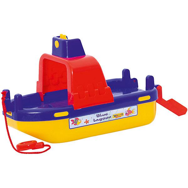 Паром Лагуна, ПолесьеКорабли и лодки<br>Характеристики товара:<br><br>• возраст: от 3 лет<br>• материал: пластик<br>• размер упаковки: 30x14,5x17,7 см.<br>• страна производитель: Беларусь.<br><br>Паром Лагуна на веревочке развеселит ребенка во время принятия ванны. Также с ним можно играть у водоемов жарким летним днем.<br>Такой корабль станет отличным участником игр в ванной или бассейне.<br><br>Паром Лагуна, Полесье можно купить в нашем интернет-магазине.<br><br>Ширина мм: 306<br>Глубина мм: 164<br>Высота мм: 193<br>Вес г: 284<br>Возраст от месяцев: 12<br>Возраст до месяцев: 72<br>Пол: Унисекс<br>Возраст: Детский<br>SKU: 5508425