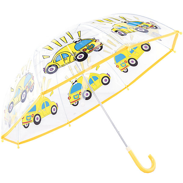 Зонт детский Автомобиль, 46 см.Зонты детские<br>Характеристики:<br><br>• возраст: от 3 лет;<br>• материал: полиэстер, пластик, металл;<br>• радиус купола: 46 см;<br>• вес: 270 гр.;<br>• размер упаковки: 58х8х6 см;<br>• страна производитель: Китай.<br><br>Детский зонтик Mary Poppins укроет ребенка от дождя и ветра. Аксессуар имеет совсем небольшой вес, поэтому его ношение не затруднит малыша.<br><br>У зонта есть удобная закругленная ручка, которую комфортно держать. Так снижается риск того, что при сильном ветре зонтик выпадет из рук. Так же ветер не страшен и куполу – все элементы конструкции надежно скреплены между собой.<br><br>Каждая спица оснащена защитным круглым наконечником для безопасного использования. Яркий и оригинальный дизайн зонта заинтересует ребенка, такой аксессуар точно не забудется дома. Зонт-трость складывается вручную.<br><br>Зонт детский «Автомобиль», 46 см можно купить в нашем интернет-магазине.<br>Ширина мм: 580; Глубина мм: 600; Высота мм: 800; Вес г: 250; Возраст от месяцев: 36; Возраст до месяцев: 2147483647; Пол: Мужской; Возраст: Детский; SKU: 5508500;