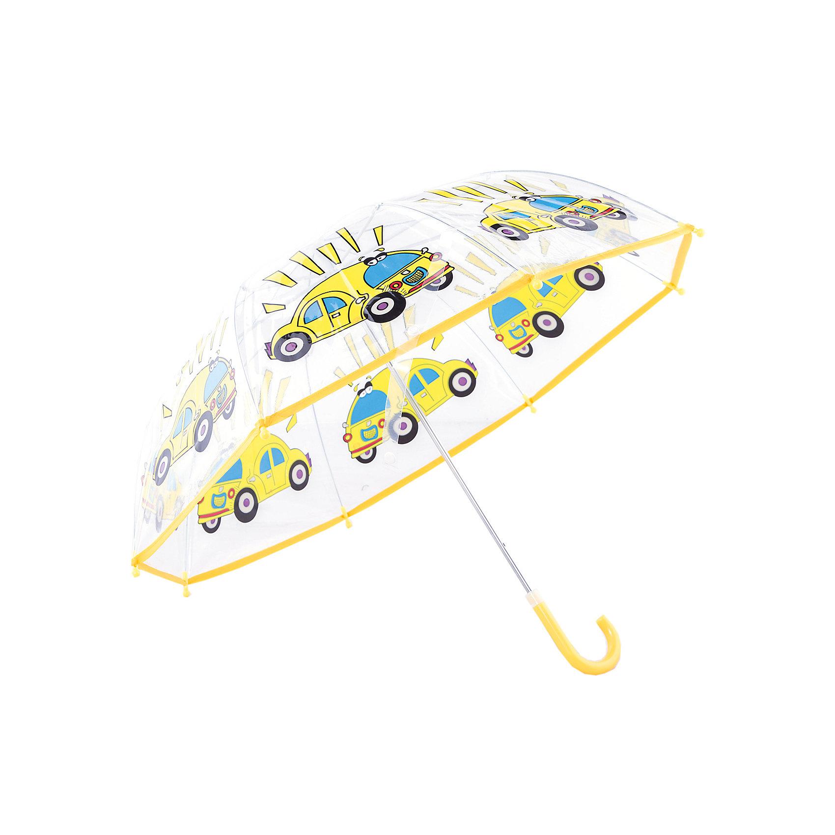 Зонт детский Автомобиль, 46 см.Детский зонтик-тросточка с ярким принтом защитит ребенка от непогоды. Зонтик не боится дождя и ветра благодаря прочному креплению купола к каркасу. <br> Технические характеристики: <br> Механическая система складывания; <br> Концы спиц закрыты пластиковыми шариками;  <br> Пластиковый фиксатор на стержне зонтика;  <br> Радиус купола - 46 см<br><br>Ширина мм: 580<br>Глубина мм: 600<br>Высота мм: 800<br>Вес г: 250<br>Возраст от месяцев: 36<br>Возраст до месяцев: 2147483647<br>Пол: Мужской<br>Возраст: Детский<br>SKU: 5508500