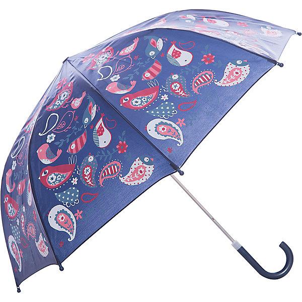Зонт детский Веселые птички, 46 см.Зонты детские<br>Характеристики:<br><br>• возраст: от 3 лет;<br>• материал: полиэстер, пластик, металл;<br>• радиус купола: 46 см;<br>• вес: 240 гр.;<br>• размер упаковки: 58х8х4 см;<br>• страна производитель: Китай.<br><br>Детский зонтик Mary Poppins укроет ребенка от дождя и ветра. Аксессуар имеет совсем небольшой вес, поэтому его ношение не затруднит малыша.<br><br>У зонта есть удобная закругленная ручка, которую комфортно держать. Так снижается риск того, что при сильном ветре зонтик выпадет из рук. Так же ветер не страшен и куполу – все элементы конструкции надежно скреплены между собой.<br><br>Каждая спица оснащена защитным круглым наконечником для безопасного использования. Яркий и оригинальный дизайн зонта заинтересует ребенка, такой аксессуар точно не забудется дома. Зонт-трость складывается вручную.<br><br>Зонт детский «Веселые птички», 46 см можно купить в нашем интернет-магазине.<br>Ширина мм: 580; Глубина мм: 400; Высота мм: 800; Вес г: 180; Возраст от месяцев: 36; Возраст до месяцев: 2147483647; Пол: Женский; Возраст: Детский; SKU: 5508503;