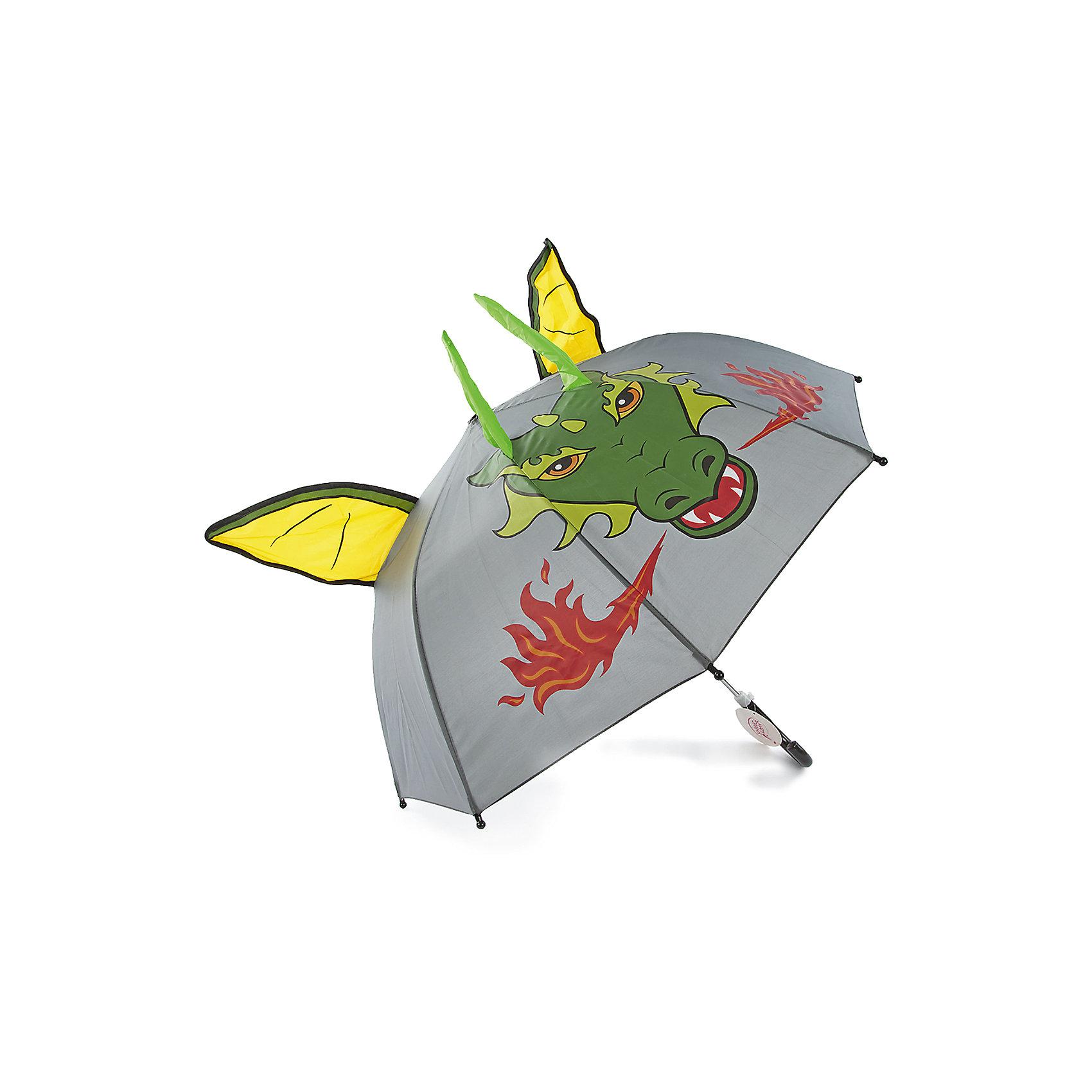 Зонт детский Дракон, 46см.Зонты детские<br>Зонт детский Дракон, 46см., Mary Poppins (Мэри Поппинс)<br><br>Характеристики:<br><br>• устойчив к ветру<br>• система складывания: механическая<br>• прочное крепление купола<br>• радиус купола: 46 см<br>• длина ручки: 57 см<br>• пластиковый фиксатор на стержне зонтика<br>• пластиковые насадки на концах спиц<br>• материал: полиэстер, металл, пластик<br>• размер упаковки: 62х8х5 см<br><br>Зонтик Дракон поднимет настроение даже в непогоду. Непромокаемый купол оформлен красочным изображением огнедышащего дракона. А объемные уши и рожки придают дракончику реалистичности. Купол надежно крепится к металлическому корпусу, чтобы зонт не пострадал от порывов ветра. Наконечники и ручка выполнены из пластика для удобства и безопасности ребенка. <br><br>Зонт детский Дракон, 46см., Mary Poppins (Мэри Поппинс) можно купить в нашем интернет-магазине.<br><br>Ширина мм: 590<br>Глубина мм: 600<br>Высота мм: 800<br>Вес г: 250<br>Возраст от месяцев: 36<br>Возраст до месяцев: 2147483647<br>Пол: Мужской<br>Возраст: Детский<br>SKU: 5508506