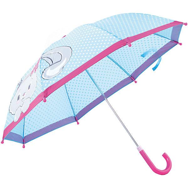 Зонт детский Зайка, 41см.Зонты детские<br>Зонт детский Зайка, 41см., Mary Poppins (Мэри Поппинс)<br><br>Характеристики:<br><br>• устойчив к ветру<br>• система складывания: автоматическая<br>• прочное крепление купола<br>• радиус купола: 41 см<br>• длина ручки: 57 см<br>• пластиковые насадки на спицах<br>• материал: полиэстер, текстиль, металл, пластик<br>• размер упаковки: 54х8х5 см<br><br>Очаровательный зонтик от Mary Poppins порадует ребенка красивым дизайном и защитит от непогоды. Зонт складывается автоматически. Купол надежно крепится к металлическому корпусу, чтобы придать устойчивости к ветру. Наконечники спиц и основание ручки выполнены из пластика. Купол зонта оформлен принтом в горошек и бордовой окантовкой, на которых красуется прелестная зайка.<br><br>Зонт детский Зайка, 41см. , Mary Poppins (Мэри Поппинс)Вы можете купить в нашем интернет-магазине.<br><br>Ширина мм: 535<br>Глубина мм: 500<br>Высота мм: 800<br>Вес г: 200<br>Возраст от месяцев: 36<br>Возраст до месяцев: 2147483647<br>Пол: Женский<br>Возраст: Детский<br>SKU: 5508508