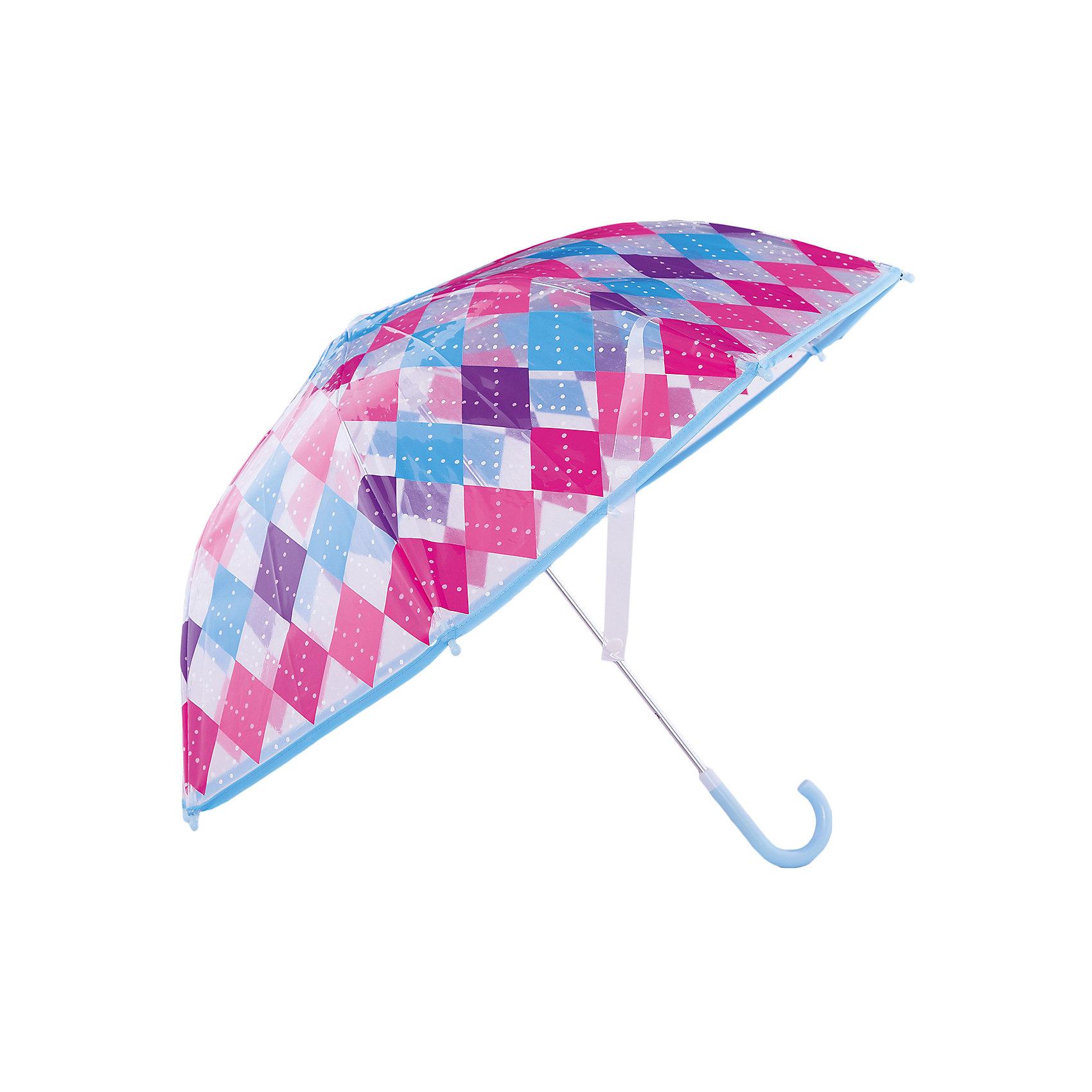 Зонт детский Классика, 46 см.Зонты детские<br>Зонт детский Классика, 46 см., Mary Poppins (Мэри Поппинс)<br><br>Характеристики:<br><br>• устойчив к ветру<br>• система складывания: механическая<br>• прочное крепление купола<br>• радиус купола: 46 см<br>• длина ручки: 57 см<br>• пластиковые насадки на спицах<br>• материал: текстиль, металл, пластик, клеенка<br>• размер упаковки: 58х6х8 см<br><br>Классика - стильный зонт от бренда Mary Poppins. Купол зонта выполнен из прозрачной клеенки, оформленной узором из разноцветных ромбов и голубой окантовкой. Прочная конструкция обеспечивает зонтику высокую устойчивость к дождю и ветру. Спицы дополнены пластиковыми шариками, предотвращающими травмирование во время использования. <br><br>Зонт детский Классика, 46 см., Mary Poppins (Мэри Поппинс) вы можете купить в нашем интернет-магазине.<br><br>Ширина мм: 580<br>Глубина мм: 600<br>Высота мм: 800<br>Вес г: 250<br>Возраст от месяцев: 36<br>Возраст до месяцев: 2147483647<br>Пол: Женский<br>Возраст: Детский<br>SKU: 5508512