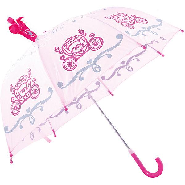 Зонт детский Корона, 46см.Зонты детские<br>Зонт детский Корона, 46см., Mary Poppins (Мэри Поппинс)<br><br>Характеристики:<br><br>• устойчив к ветру<br>• система складывания: механическая<br>• прочное крепление купола<br>• радиус купола: 46 см<br>• длина ручки: 57 см<br>• пластиковые насадки на спицах<br>• материал: текстиль, металл, пластик, клеенка<br>• размер упаковки: 58х6х8 см<br><br>С зонтом Корона девочка почувствует себя настоящей принцессой, которой не страшен даже сильный дождь. Широкий купол надежно защитит девочку от дождя и ветра. Прочное крепление делает зонт устойчивым к порывам ветра и дождю. Концы спиц дополнены пластиковыми шариками, чтобы ребенок не поранился в непогоду. Купол зонта декорирован красивым принтом и объемной короной, созданной специально для маленьких принцесс.<br><br>Зонт детский Корона, 46см., Mary Poppins (Мэри Поппинс) вы можете купить в нашем интернет-магазине.<br>Ширина мм: 580; Глубина мм: 400; Высота мм: 400; Вес г: 250; Возраст от месяцев: 36; Возраст до месяцев: 2147483647; Пол: Женский; Возраст: Детский; SKU: 5508513;