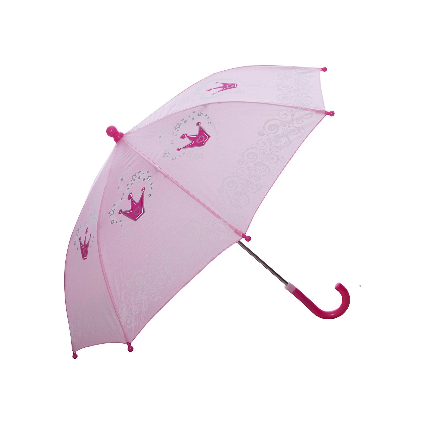 Зонт детский Корона, 41 см.Зонты детские<br>Яркий и удобный зонтик для малышей Корона. Радиус: 41 см. Длина ручки: 57 см.<br><br>Ширина мм: 560<br>Глубина мм: 400<br>Высота мм: 800<br>Вес г: 200<br>Возраст от месяцев: 36<br>Возраст до месяцев: 2147483647<br>Пол: Женский<br>Возраст: Детский<br>SKU: 5508514