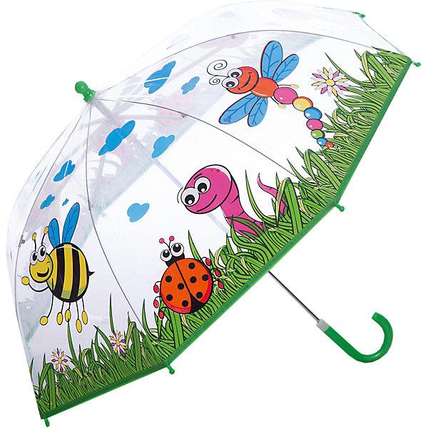 Зонт детский Насекомые, 46см.Зонты детские<br>Зонт детский Насекомые, 46см., Mary Poppins (Мэри Поппинс)<br><br>Характеристики:<br><br>• устойчив к ветру<br>• система складывания: механическая<br>• прочное крепление купола<br>• радиус купола: 46 см<br>• длина ручки: 57 см<br>• пластиковый фиксатор на стержне зонтика<br>• пластиковые насадки на спицах<br>• материал: текстиль, металл, пластик<br>• размер упаковки: 61х6х8 см<br><br>Яркий зонт Насекомые не позволит малышу загрустить, когда на улице идет дождик. Зонт надежно защит ребенка от дождя и ветра и поднимет настроение ярким дизайном. На куполе изображены различные насекомые. Зонт складывается механически, имеет широкие поля купола и закругленные наконечники на концах спиц. С таким зонтом малышу не страшен даже сильный дождь!<br><br>Зонт детский Насекомые, 46см., Mary Poppins (Мэри Поппинс) вы можете купить в нашем интернет-магазине.<br><br>Ширина мм: 610<br>Глубина мм: 600<br>Высота мм: 800<br>Вес г: 250<br>Возраст от месяцев: 36<br>Возраст до месяцев: 2147483647<br>Пол: Унисекс<br>Возраст: Детский<br>SKU: 5508517