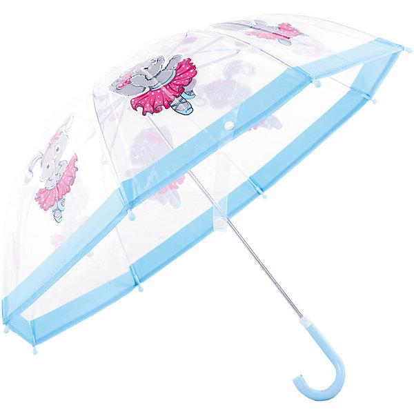 Зонт детский прозрачный Зайка танцует, 46 см.Зонты детские<br>Зонт детский прозрачный Зайка танцует, 46 см., Mary Poppins (Мэри Поппинс)<br><br>Характеристики:<br><br>• устойчив к ветру<br>• система складывания: механическая<br>• прочное крепление купола<br>• радиус купола: 46 см<br>• длина ручки: 57 см<br>• пластиковый фиксатор на стержне зонтика<br>• пластиковые насадки на спицах<br>• материал: текстиль, металл, пластик<br>• размер упаковки: 61,5х5х8 см<br><br>Зонт Зайка танцует защитит вашего ребенка от дождя в непогоду. Прочное крепление купола делает зонт устойчивым к сильному ветру. Зонт имеет механическую систему складывания. Пластиковая ручка имеет форму, удобную для детских рук. Металлические спицы дополнены пластиковыми наконечники, чтобы ребенок не поранился по время использования зонта. Прозрачный купол оформлен ярким принтом с изображением прекрасной зайки. Кроха сможет разглядывать маленькие капельки и радоваться дождику.<br><br>Зонт детский прозрачный Зайка танцует, 46 см., Mary Poppins (Мэри Поппинс) вы можете купить в нашем интернет-магазине.<br><br>Ширина мм: 615<br>Глубина мм: 500<br>Высота мм: 800<br>Вес г: 250<br>Возраст от месяцев: 36<br>Возраст до месяцев: 2147483647<br>Пол: Женский<br>Возраст: Детский<br>SKU: 5508521