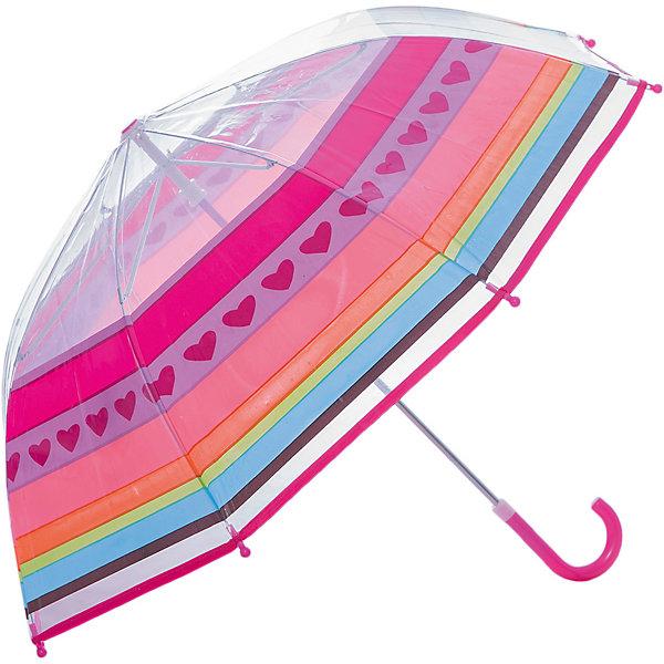 Зонт детский Радуга, 46 см.Зонты детские<br>Зонт детский Радуга, 46 см., Mary Poppins (Мэри Поппинс)<br><br>Характеристики:<br><br>• устойчив к ветру<br>• система складывания: механическая<br>• прочное крепление купола<br>• радиус купола: 46 см<br>• длина ручки: 57 см<br>• пластиковый фиксатор на стержне зонтика<br>• пластиковые насадки на спицах<br>• материал: текстиль, металл, пластик, клеенка<br>• размер упаковки: 58,5х6х8 см<br><br>Зонт Радуга порадует вас ярким дизайном и качественным исполнением. Купол зонта покрыт всеми цветами радуги. Такой зонт станет прекрасным дополнением к образу юного модника. Изделие имеет прочную конструкцию, устойчивую к дождю и ветру. На спицах есть пластиковые наконечники, выполняющие защитную функцию. Яркий и красивый зонтик не позволит грустить, когда идет дождь!<br><br>Зонт детский Радуга, 46 см., Mary Poppins (Мэри Поппинс) можно купить в нашем интернет-магазине.<br><br>Ширина мм: 585<br>Глубина мм: 600<br>Высота мм: 800<br>Вес г: 250<br>Возраст от месяцев: 36<br>Возраст до месяцев: 2147483647<br>Пол: Женский<br>Возраст: Детский<br>SKU: 5508522