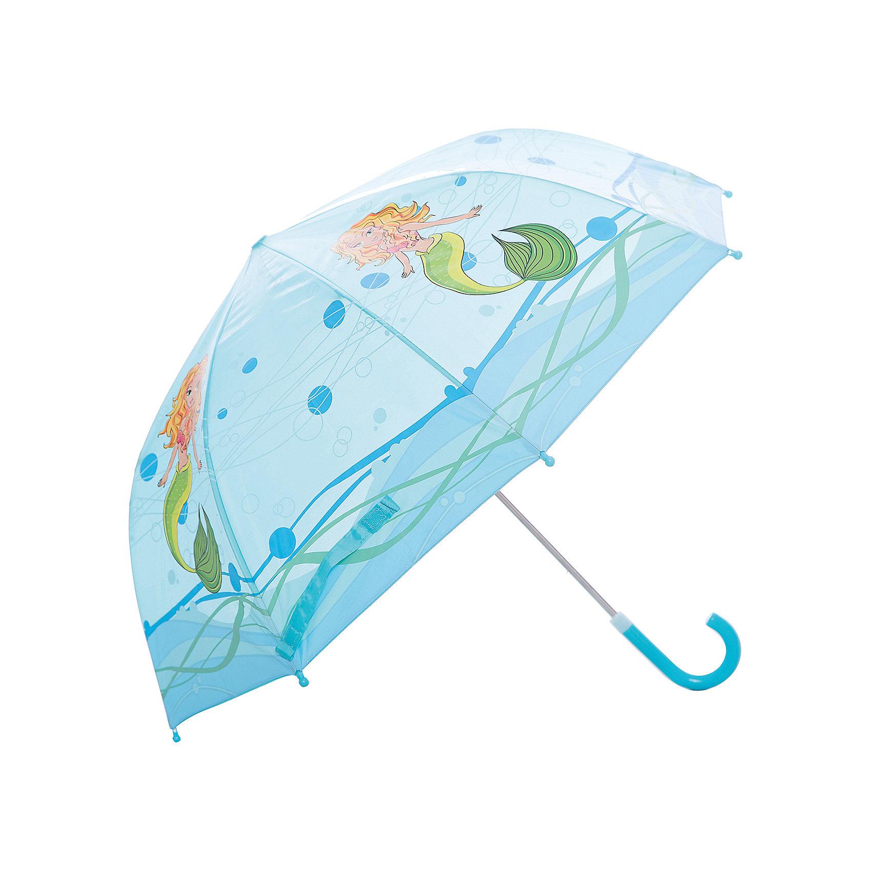 Зонт детский Русалка, 46 см.Зонты детские<br>Зонт детский Русалка, 46см., Mary Poppins (Мэри Поппинс)<br><br>Характеристики:<br><br>• устойчив к ветру<br>• система складывания: механическая<br>• прочное крепление купола<br>• радиус купола: 46 см<br>• длина ручки: 57 см<br>• пластиковые насадки на спицах<br>• материал: текстиль, металл, пластик, полиэстер<br>• размер упаковки: 61х6х8 см<br><br>Яркий зонт Русалка не позволит малышу загрустить, когда на улице идет дождик. Зонт надежно защитит ребенка от дождя и ветра и поднимет настроение ярким дизайном. На куполе изображена прекрасная русалка, живущая в морских глубинах. Зонт складывается механически, имеет широкие поля купола и закругленные наконечники на концах спиц. С таким зонтом малышу не страшен даже сильный дождь!<br><br>Зонт детский Русалка, 46см., Mary Poppins (Мэри Поппинс) вы можете купить в нашем интернет-магазине.<br><br>Ширина мм: 615<br>Глубина мм: 500<br>Высота мм: 800<br>Вес г: 200<br>Возраст от месяцев: 36<br>Возраст до месяцев: 2147483647<br>Пол: Женский<br>Возраст: Детский<br>SKU: 5508523