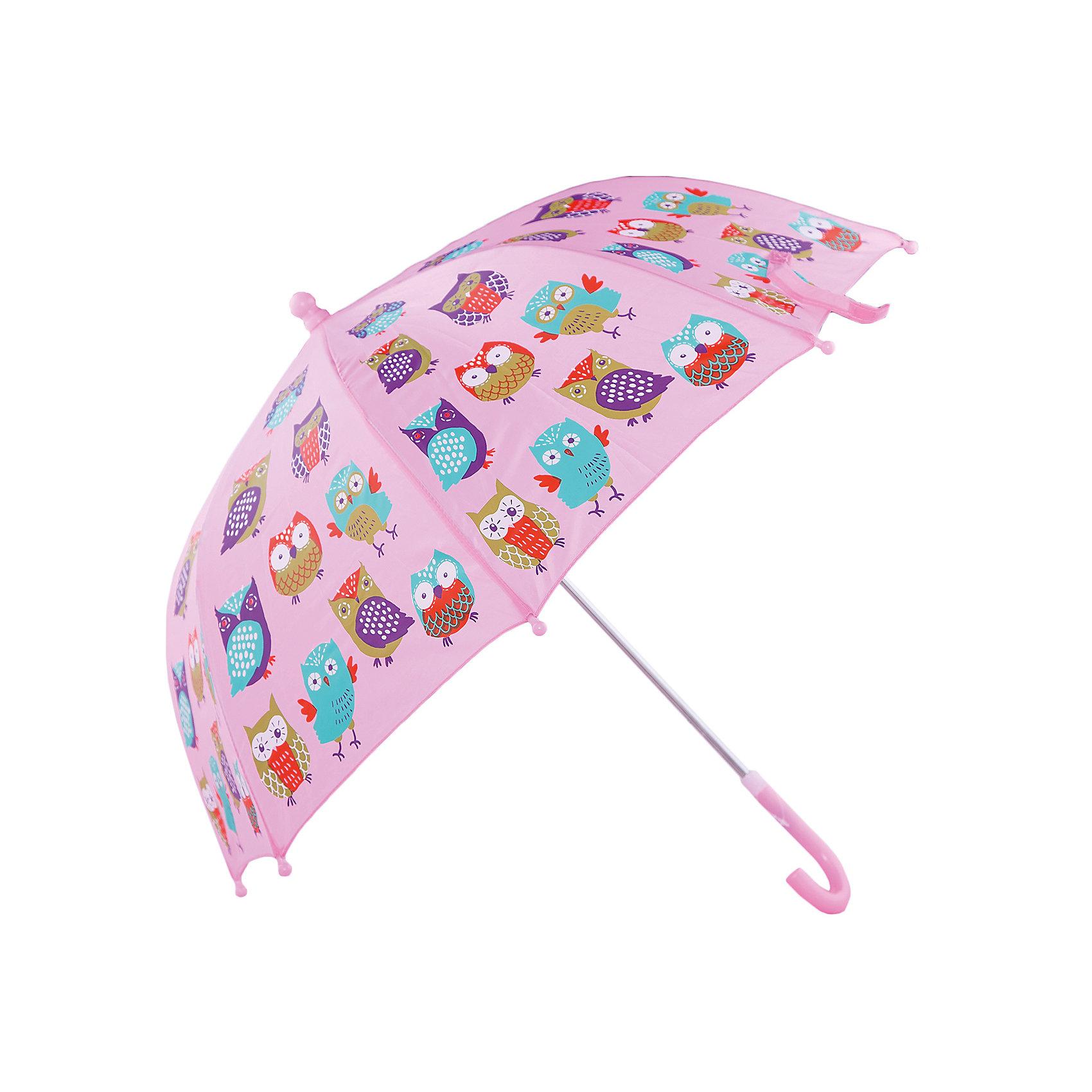 Зонт детский Совушки, 46 см.Зонты детские<br>Зонт детский Совушки, 46 см., Mary Poppins (Мэри Поппинс)<br><br>Характеристики:<br><br>• устойчив к ветру<br>• система складывания: механическая<br>• прочное крепление купола<br>• радиус купола: 46 см<br>• длина ручки: 57 см<br>• пластиковый фиксатор на стержне зонтика<br>• пластиковые насадки на спицах<br>• материал: текстиль, металл, пластик<br>• размер упаковки: 60х6х8 см<br><br>Красивый и надёжный зонт - необходимый аксессуар для каждого ребёнка. Зонт Совушки не только защитит от дождя, но и поднимет настроение в непогоду. Купол надёжно прикреплен к металлическому каркасу, благодаря чему зонт устойчив к порывам ветра. Купол оформлен красивым изображением разноцветных сов. На концах спиц есть закругленные пластиковые наконечники.<br><br>Зонт детский Совушки, 46 см., Mary Poppins (Мэри Поппинс) вы можете купить в нашем интернет-магазине.<br><br>Ширина мм: 600<br>Глубина мм: 600<br>Высота мм: 800<br>Вес г: 180<br>Возраст от месяцев: 36<br>Возраст до месяцев: 2147483647<br>Пол: Женский<br>Возраст: Детский<br>SKU: 5508526