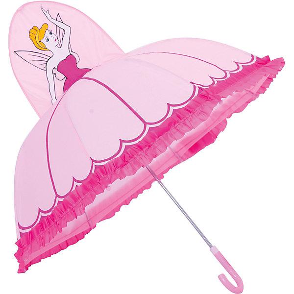 Зонт детский Фея, 46см.Зонты детские<br>Зонт детский Фея, 46см., Mary Poppins (Мэри Поппинс)<br><br>Характеристики:<br><br>• устойчив к ветру<br>• система складывания: механическая<br>• прочное крепление купола<br>• радиус купола: 46 см<br>• длина ручки: 57 см<br>• пластиковый фиксатор на стержне зонтика<br>• пластиковые насадки на спицах<br>• материал: текстиль, металл, пластик<br>• размер упаковки: 60х4х7 см<br><br>Зонт Фея позволит девочке почувствовать себя настоящей принцессой из волшебных сказок. Купол зонта выполнен в виде пышного бального платья, а верх купола украшает прекрасная объемная фигурка феи. Купол надежно крепится к каркасу, что делает зонт устойчивым к сильному ветру и дождю. На концах спиц предусмотрены закругленные наконечники из пластика.<br><br>Зонт детский Фея, 46см., Mary Poppins (Мэри Поппинс) Вы можете купить в нашем интернет-магазине.<br>Ширина мм: 600; Глубина мм: 200; Высота мм: 700; Вес г: 250; Возраст от месяцев: 36; Возраст до месяцев: 2147483647; Пол: Женский; Возраст: Детский; SKU: 5508527;