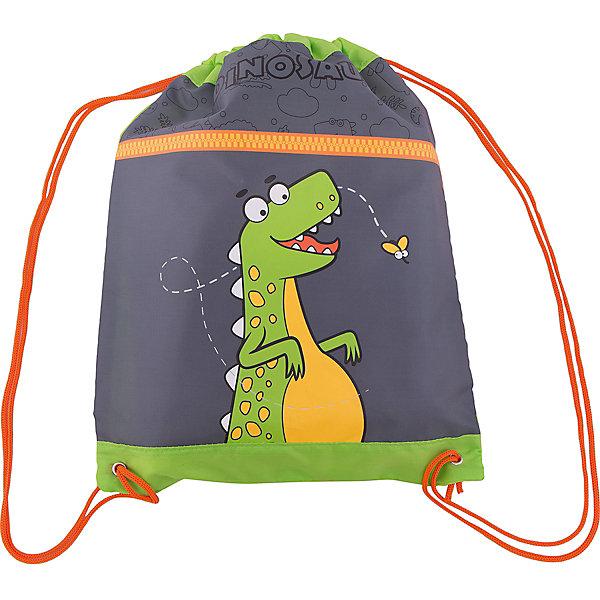 Мешок-рюкзак Дино 30*40 см.