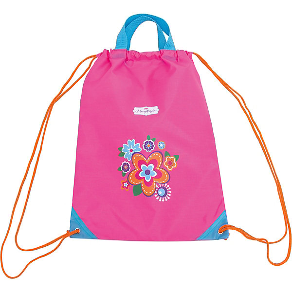 Мешок-рюкзак с ручками Цветы 30*40 см.Мешки для обуви<br>Мешок-рюкзак с ручками Цветы 30*40 см., Mary Poppins (Мэри Поппинс)<br><br>Характеристики:<br><br>• одно основное отделение<br>• две удобные ручки<br>• утягивается с помощью шнурка<br>• материал: текстиль, пластик<br>• размер: 30х40 см<br>• размер упаковки: 30х40х1 см<br>• вес: 100 грамм<br><br>Мешок-рюкзак Цветы изготовлен из плотного материала и оформлен изображением прекрасных цветов. Мешок утягивается с помощью лямок-шнурков, изготовленных из плотного материала. Две верхние ручки позволят девочке удобно взять мешок, чтобы нести свои вещи самостоятельно. Мешок отлично подойдет для обуви, игрушек и других необходимых предметов.<br><br>Мешок-рюкзак с ручками Цветы 30*40 см., Mary Poppins (Мэри Поппинс) вы можете купить в нашем интернет-магазине.<br>Ширина мм: 300; Глубина мм: 400; Высота мм: 100; Вес г: 78; Возраст от месяцев: 36; Возраст до месяцев: 2147483647; Пол: Женский; Возраст: Детский; SKU: 5508534;