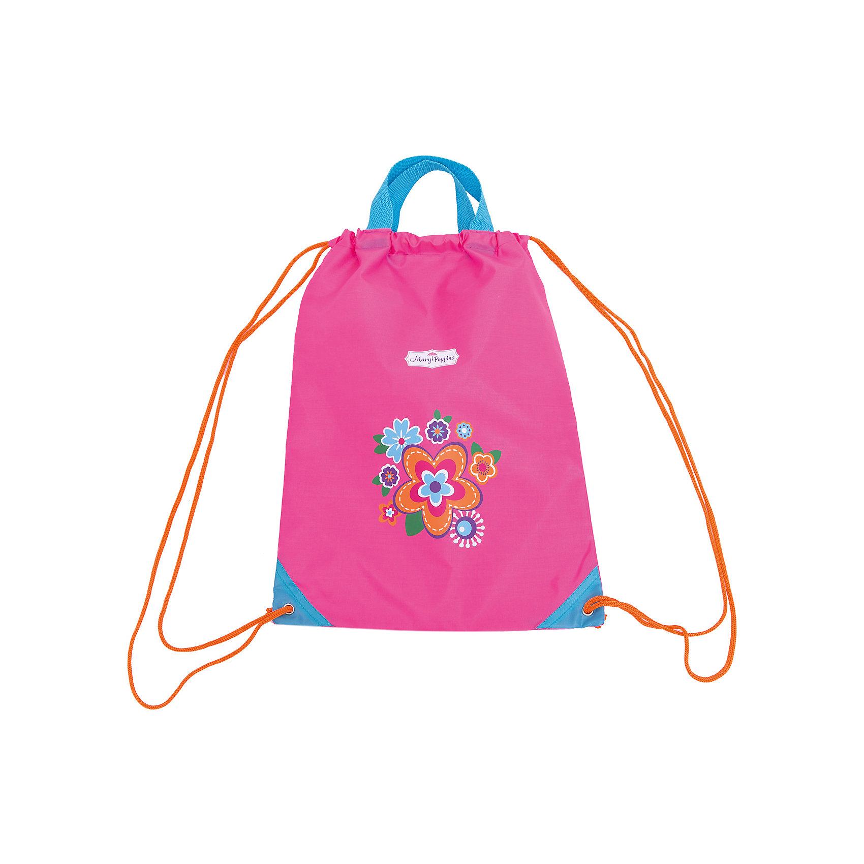 Мешок-рюкзак с ручками Цветы 30*40 см.Отличный мешок-рюкзак с ручками Цветысоздан для девочек возрастом от 3 лет и старше. Рюкзак выполнен из плотной ткани розового цвета, украшенной изображениями красивых цветочков. К примеру, в данный рюкзачок девочка может сложить свои игрушки и взять их с собой в детский сад. Яркий цвет мешка-рюкзака обязательно привлечет внимание к его юной обладательнице.<br><br>Ширина мм: 300<br>Глубина мм: 400<br>Высота мм: 100<br>Вес г: 78<br>Возраст от месяцев: 72<br>Возраст до месяцев: 2147483647<br>Пол: Женский<br>Возраст: Детский<br>SKU: 5508534