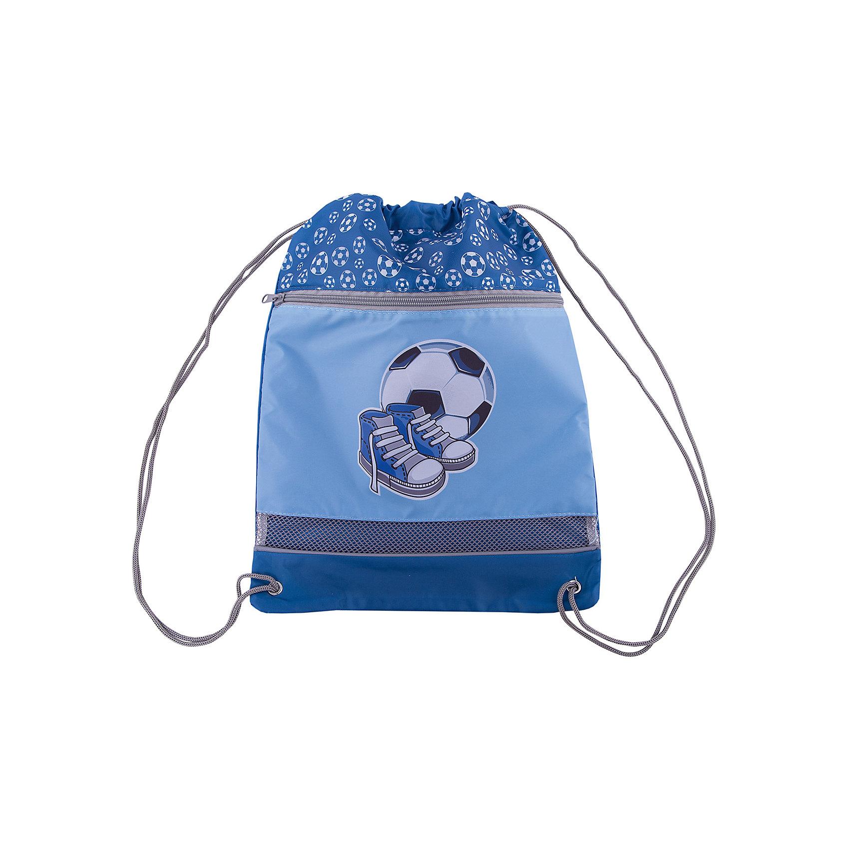 Мешок-рюкзак Спорт 30*40 см.Мешки для обуви<br>Мешок-рюкзак украшен принтом в виде спортивной атрибутики и поможет мигом настроиться на нужный спортивный лад. В мешок можно поместить тренировочную обувь или форму. Отделение рюкзака затягивается веревками, а также сверху располагается дополнительная застежка-молния. В нижней части мешка Спорт имеется вставка из сеточки, которая обеспечит хорошую циркуляцию воздуха внутри рюкзака.<br><br>Ширина мм: 300<br>Глубина мм: 400<br>Высота мм: 100<br>Вес г: 60<br>Возраст от месяцев: 36<br>Возраст до месяцев: 2147483647<br>Пол: Мужской<br>Возраст: Детский<br>SKU: 5508535