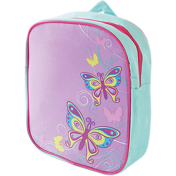 Рюкзак Бабочки 24*8*27см.Детские рюкзаки<br>Рюкзак Бабочки 24*8*27см., Mary Poppins (Мэри Поппинс)<br><br>Характеристики:<br><br>• легкий и удобный<br>• застегивается на молнию<br>• размер: 24х8х27 см<br>• материал: текстиль, металл<br>• размер упаковки: 8х27х24 см<br>• вес: 175 грамм<br><br>Рюкзак Бабочки пригодится девочке, чтобы сложить в него свои игрушки или принадлежности для письма и рисования. Вместительное отделение рюкзака застегивается молнией. Рюкзачок очень легкий и удобный, поэтому девочка без труда сможет носить его самостоятельно. Передняя часть декорирована красочным принтом с порхающими бабочками.<br><br>Рюкзак Бабочки 24*8*27см. , Mary Poppins (Мэри Поппинс) Вы можете купить в нашем интернет-магазине.<br><br>Ширина мм: 240<br>Глубина мм: 270<br>Высота мм: 800<br>Вес г: 150<br>Возраст от месяцев: 36<br>Возраст до месяцев: 2147483647<br>Пол: Женский<br>Возраст: Детский<br>SKU: 5508536