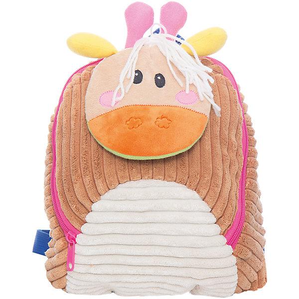 Рюкзачок Жираф, бежевый,  20*28 см.Детские рюкзаки<br>Рюкзачок Жираф, бежевый,  20*28 см., Shantou Gepai (Шанту Гепаи)<br><br>Характеристики:<br><br>• легкий и удобный<br>• оригинальный дизайн<br>• регулируемые лямки<br>• карабин для поводка<br>• размер: 20х28х8см<br>• материал: искусственный мех, текстиль, пластик<br>• размер упаковки: 20х28х8 см<br>• вес: 200 грамм<br><br>Рюкзачок Жираф порадует детей и родителей своей легкостью и оригинальностью. Модель выполнена в виде забавного жирафа с рожками, ушками и свисающим хвостиком. Основное отделение рюкзака застегивается на молнию. Лямки можно отрегулировать для комфорта малыша.  Снизу есть карабин для поводка, с помощью которого вы сможете использовать рюкзак, как шлейку.<br><br>Рюкзачок Жираф, бежевый,  20*28 см., Shantou Gepai (Шанту Гепаи) вы можете купить в нашем интернет-магазине.<br><br>Ширина мм: 200<br>Глубина мм: 280<br>Высота мм: 800<br>Вес г: 200<br>Возраст от месяцев: 36<br>Возраст до месяцев: 2147483647<br>Пол: Женский<br>Возраст: Детский<br>SKU: 5508542